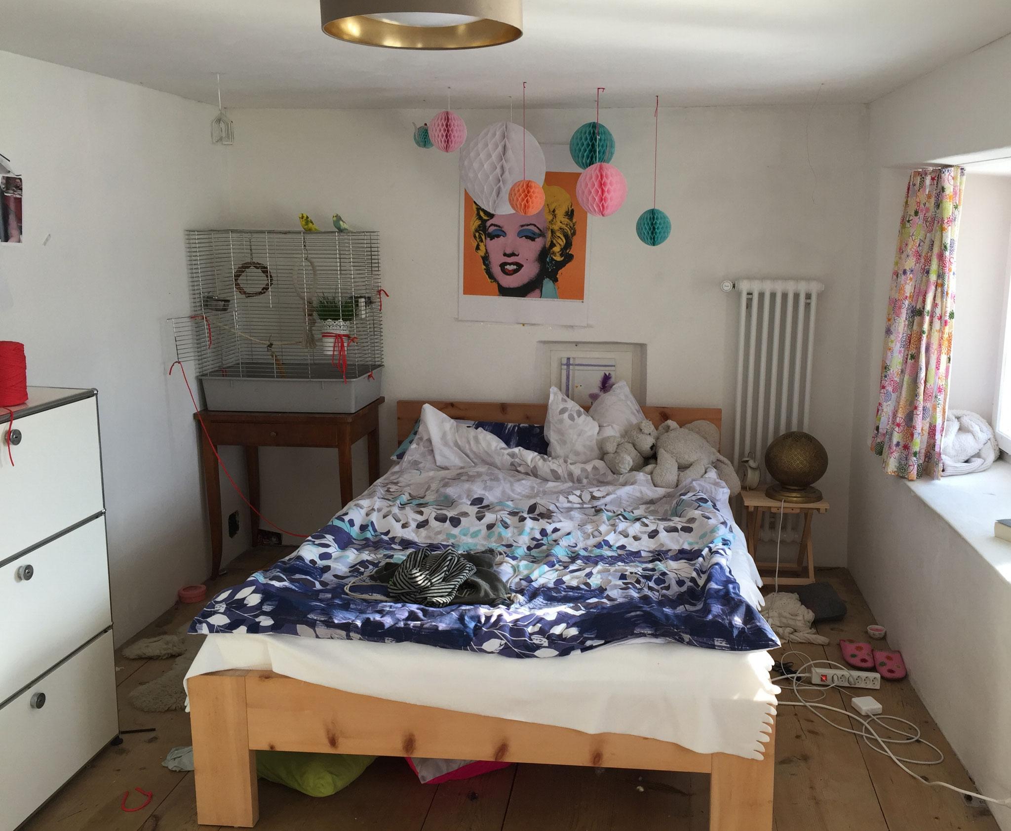 Zimmer Mädchen - vorher