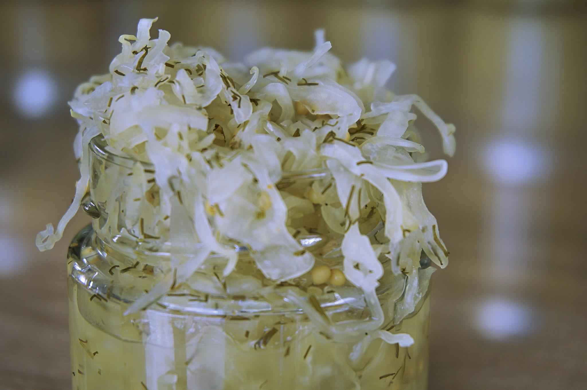 hot raw sauerkraut | Das besondere Sauerkraut