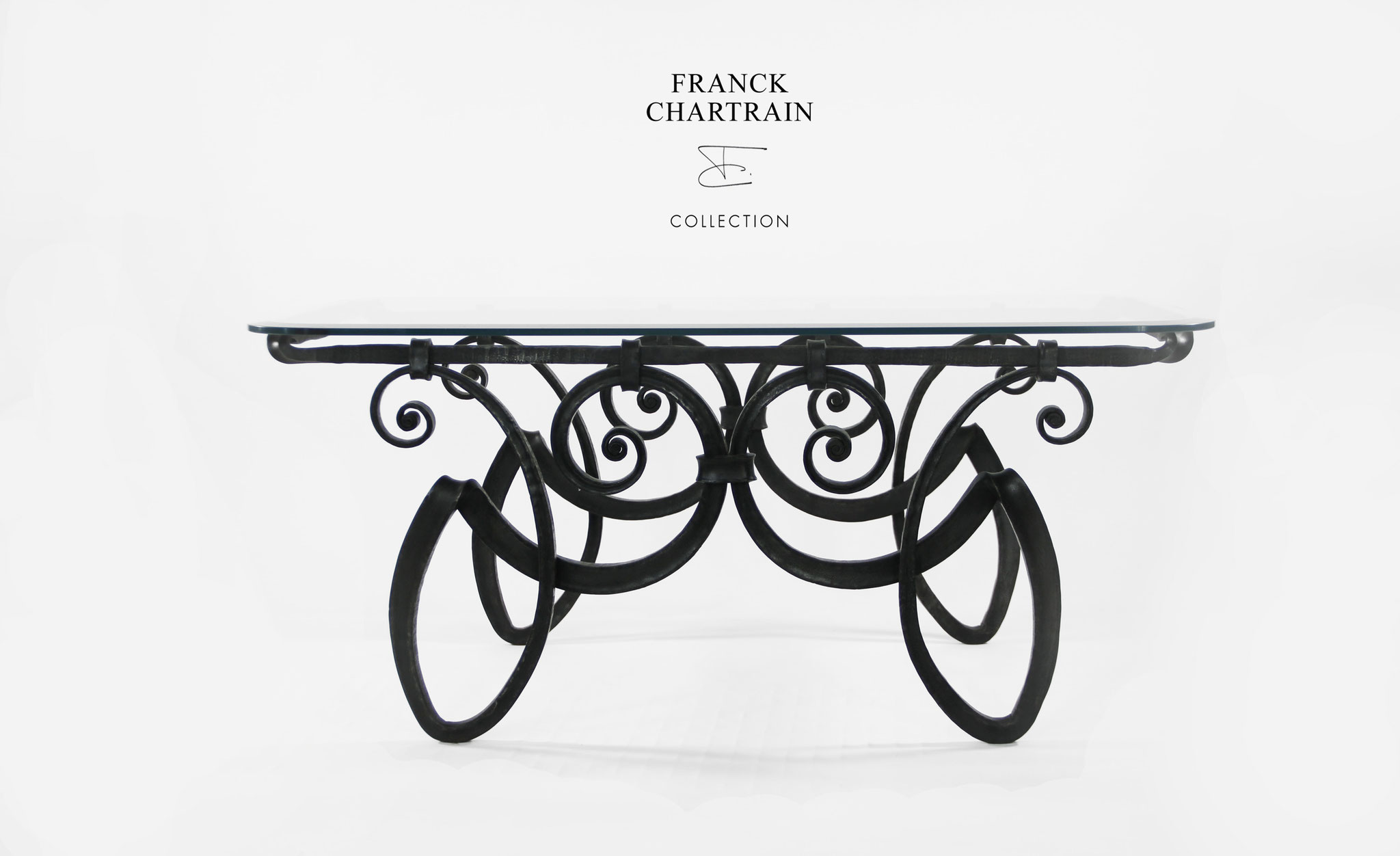 FORGE COFFEE TABLE Wrought iron