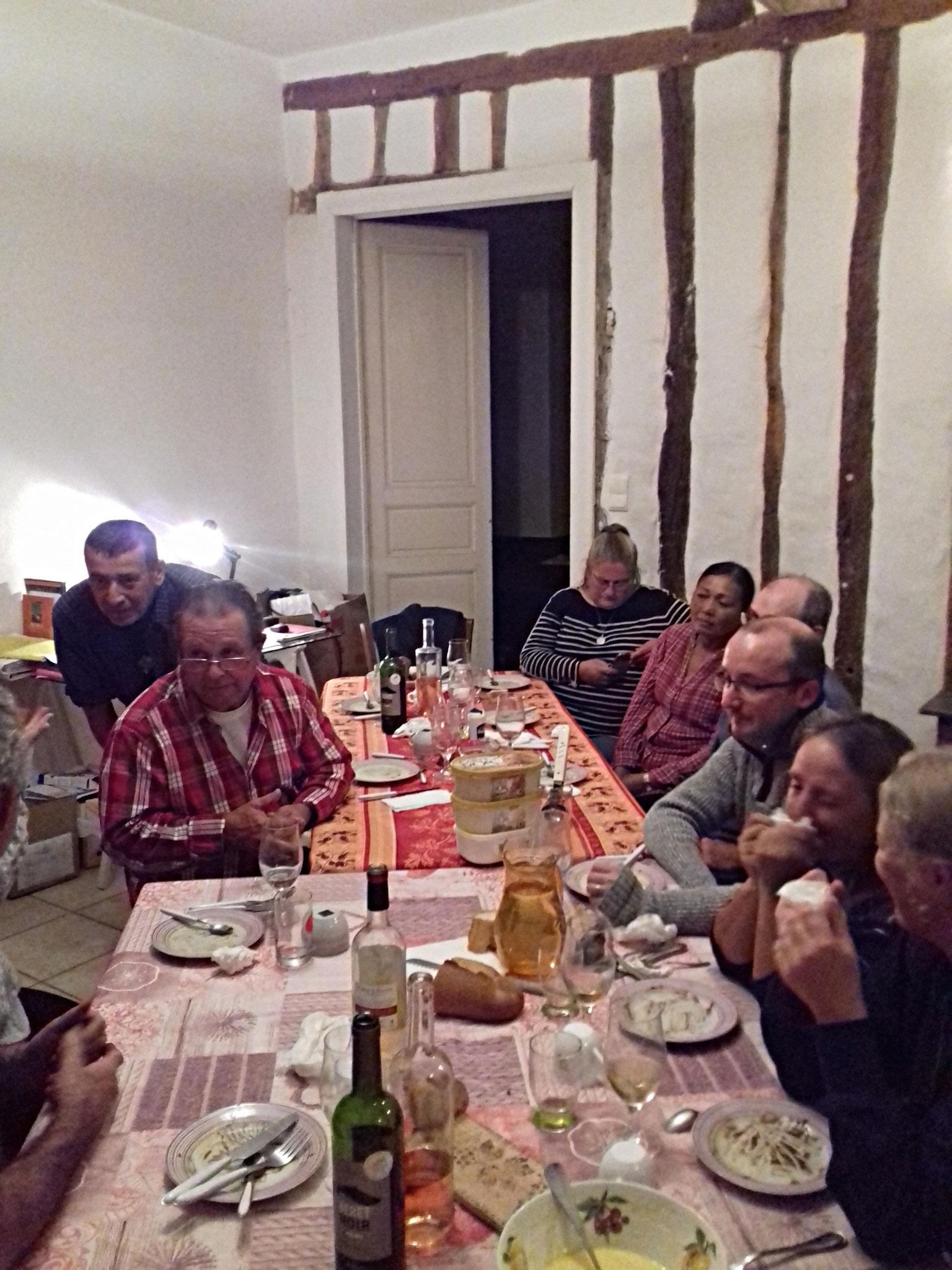 Marisol,pascual, Manfred, Denis, les 2 Philippe, Martine Gaelle, Florence, Véronique,Sébastien, Brice, Joel