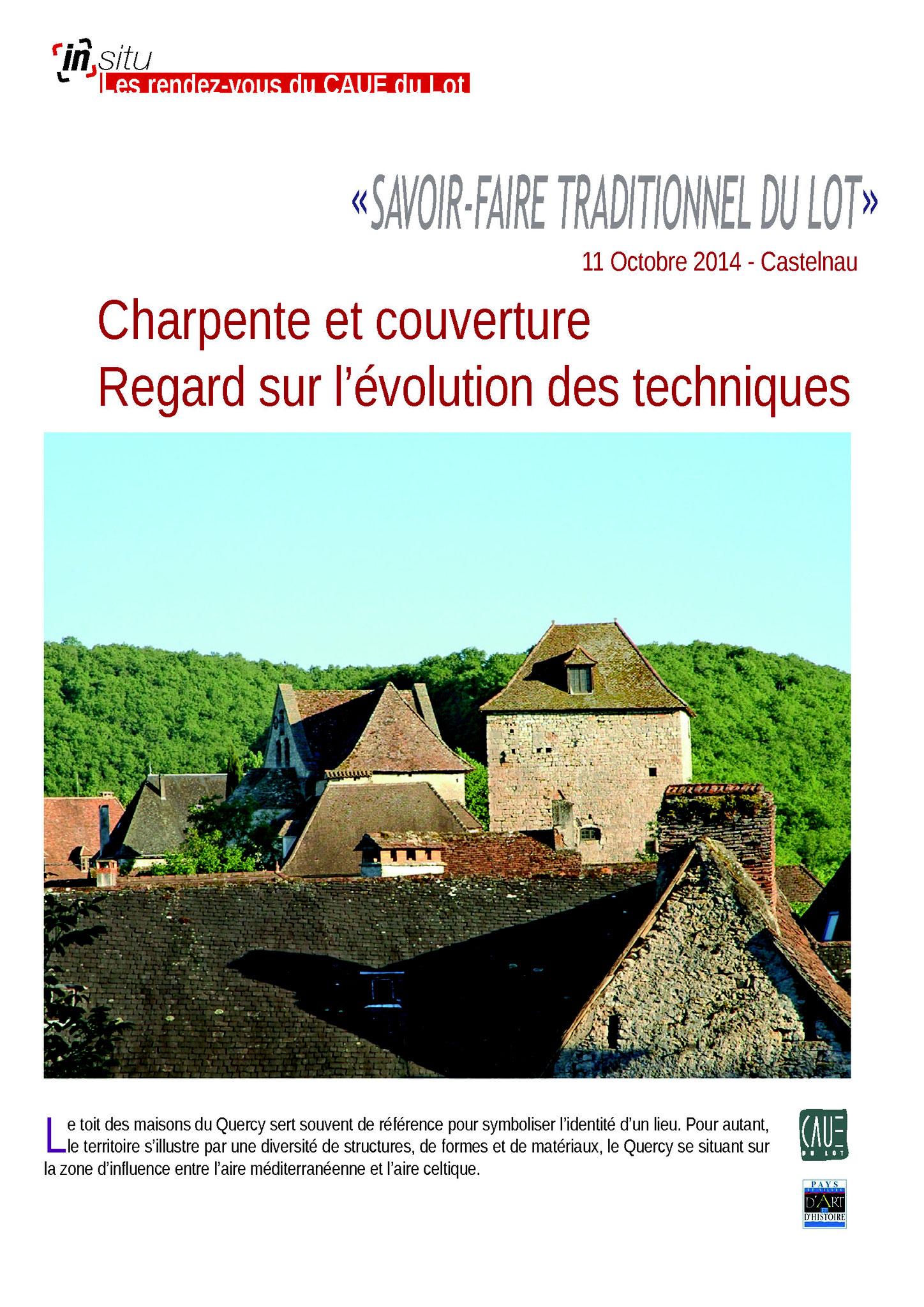 Charpente et couverture - Castelnau - Octobre 2014