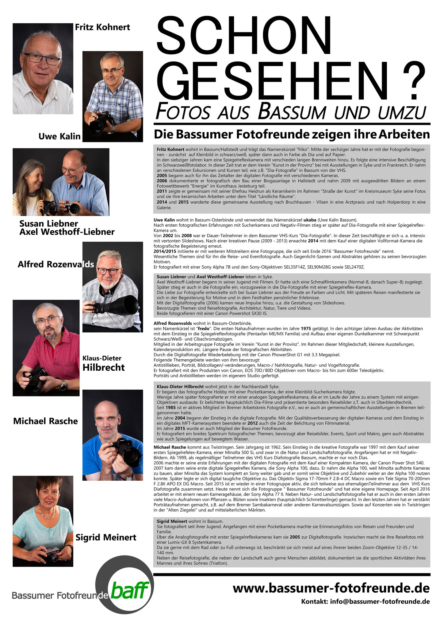 Fotos und Layout: Alfred Rozenvalds
