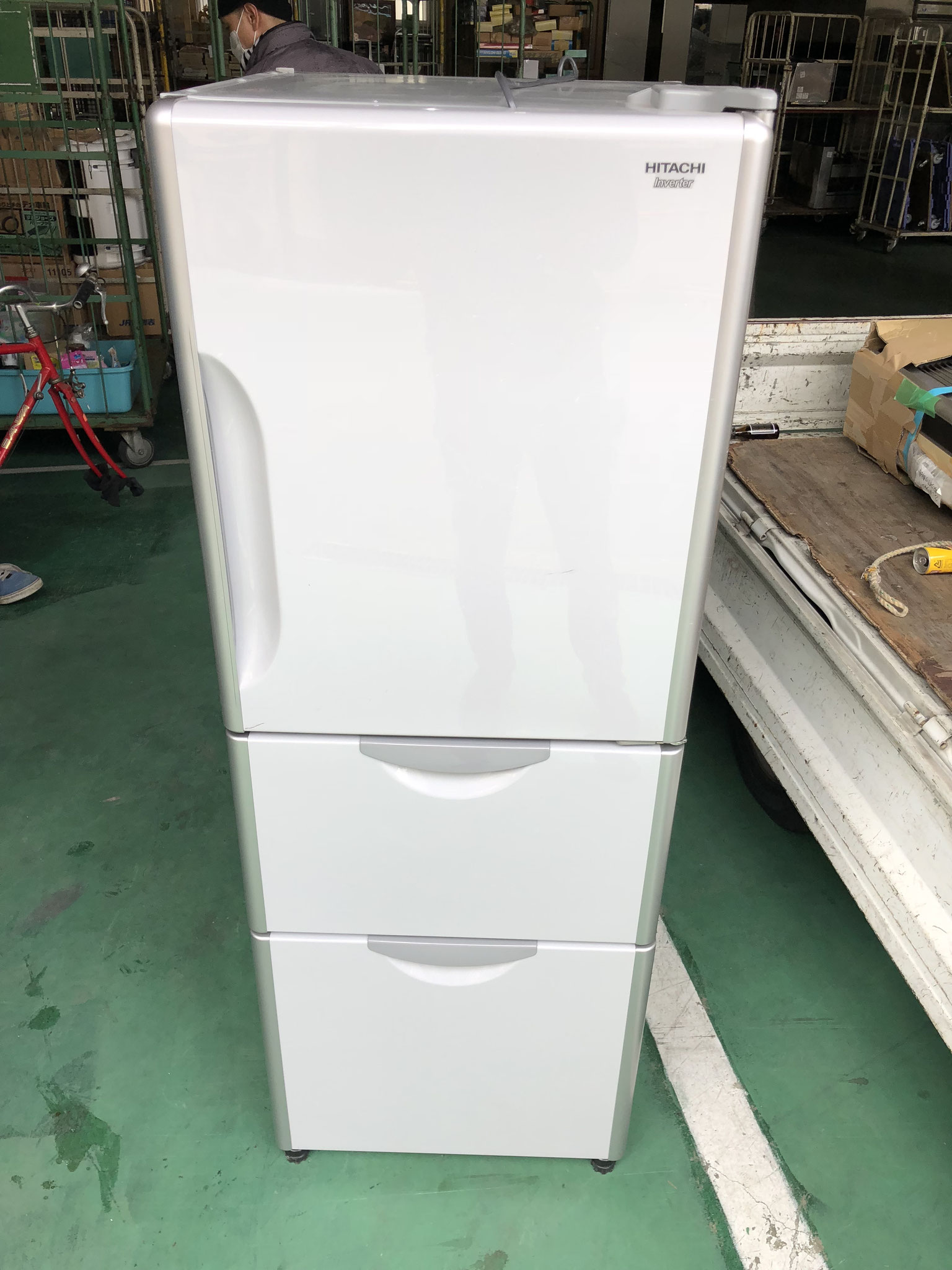 日立3ドア冷蔵庫
