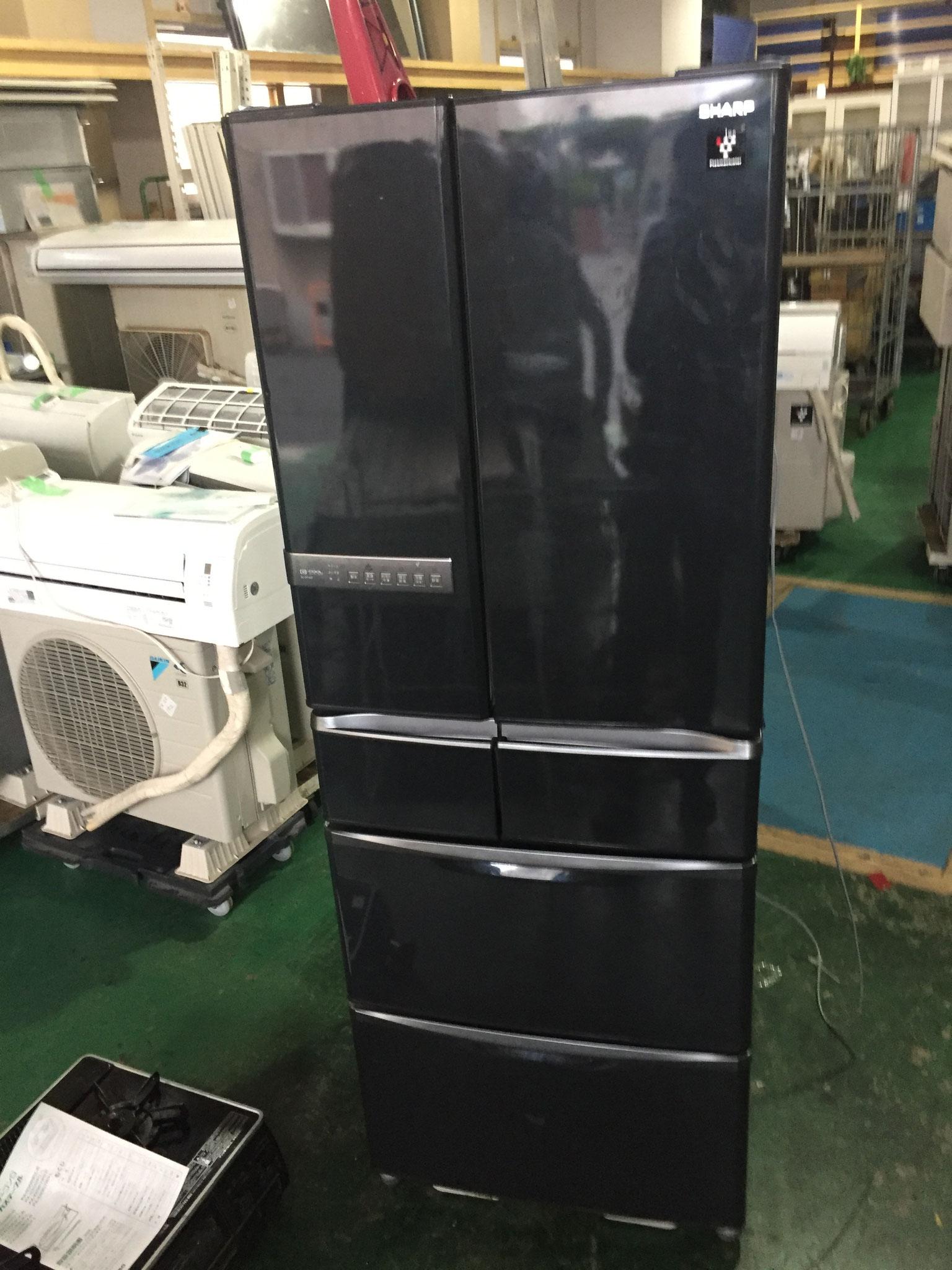 シャープ6ドア冷蔵庫