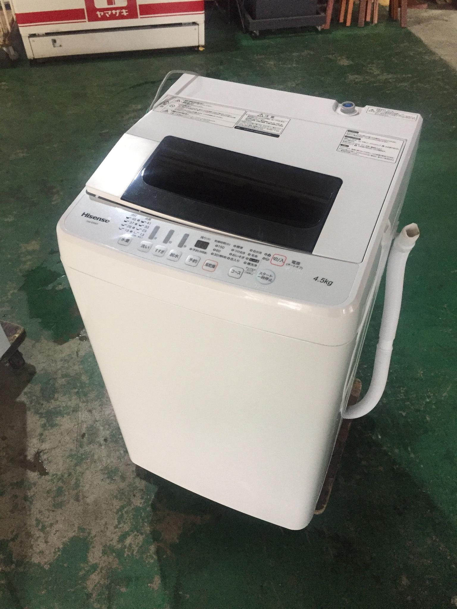 Hisennse洗濯機