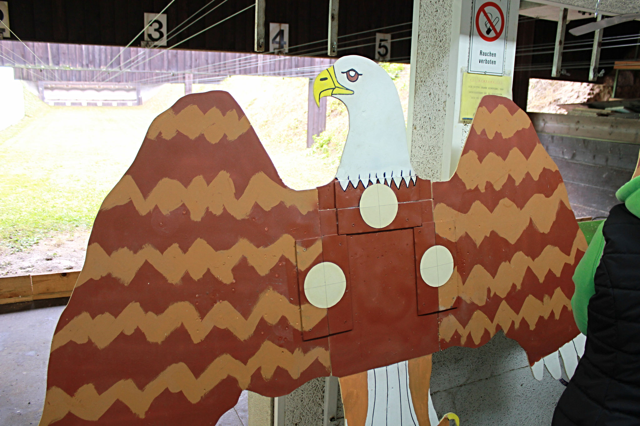 So sehen die Adler im unversehrten Zustand aus