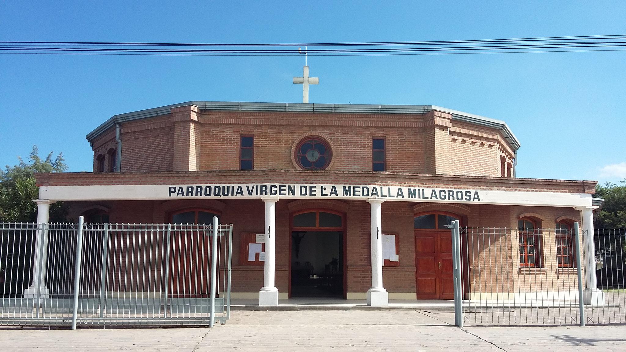 "Pquia. ""Virgen de la Medalla Milagrosa"" - Bº Alto Comedero"