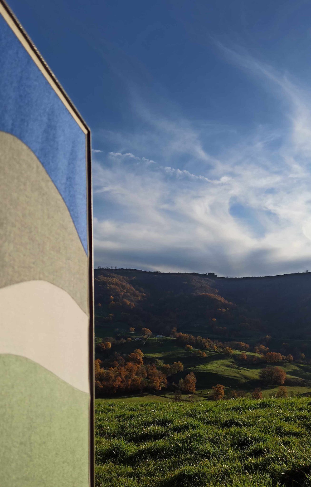 Vallée du Dourdou à Pruines © Atelier Marlène Vidal