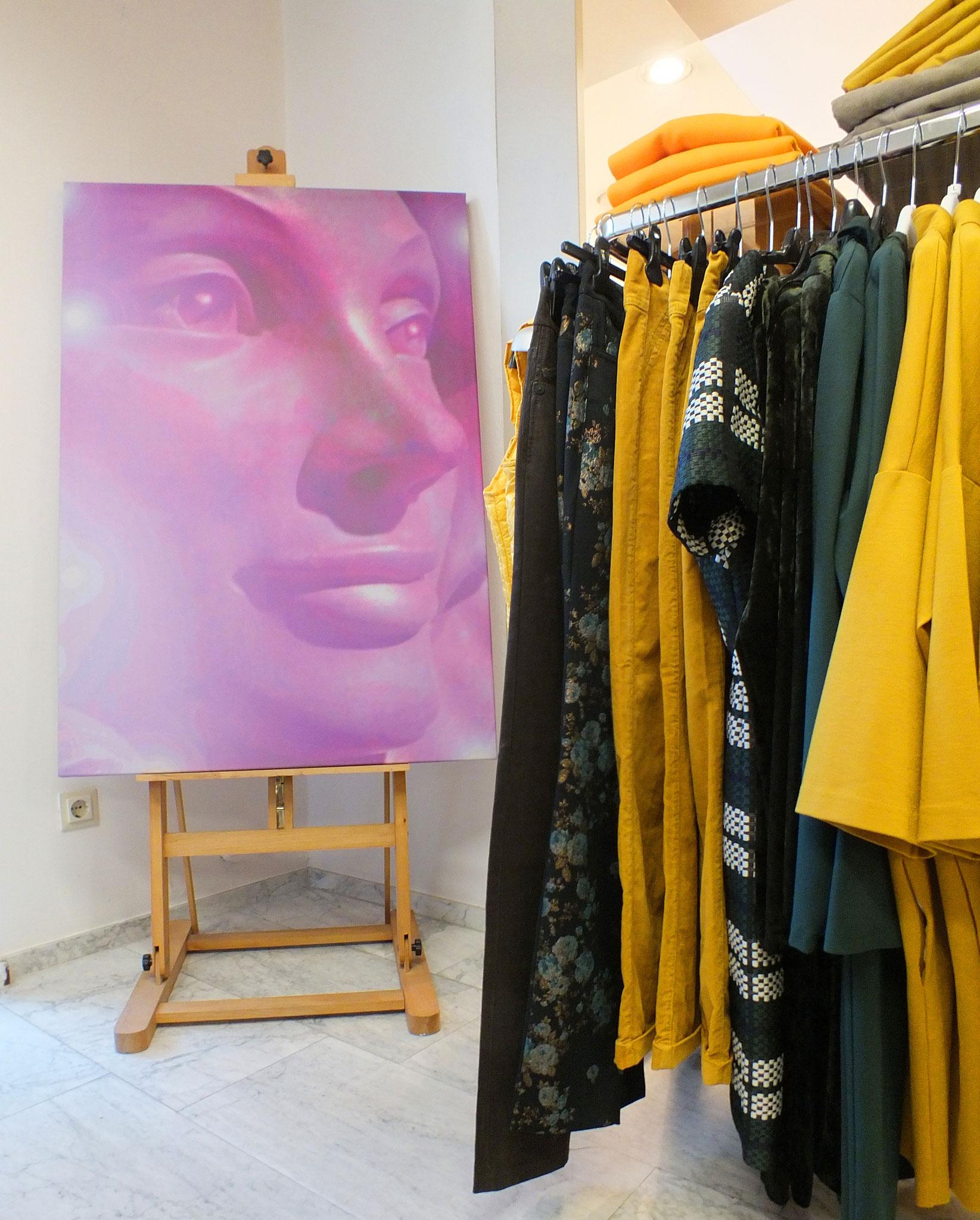 Lichtkraft-Kunstdruck auf Künstler-Leinwand * 120 x 80 x 4 cm