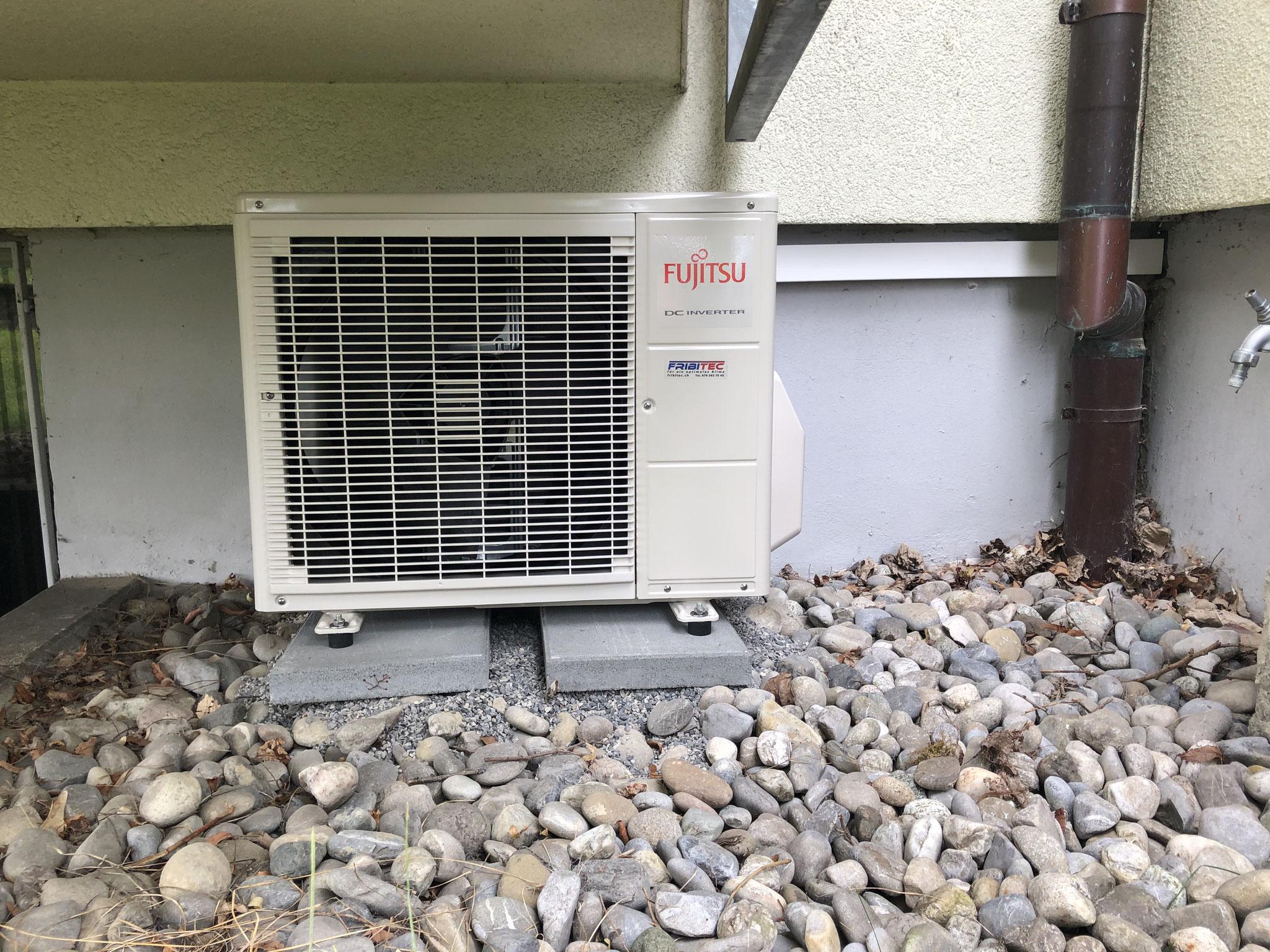 Ausseneinheit Klimaanlage