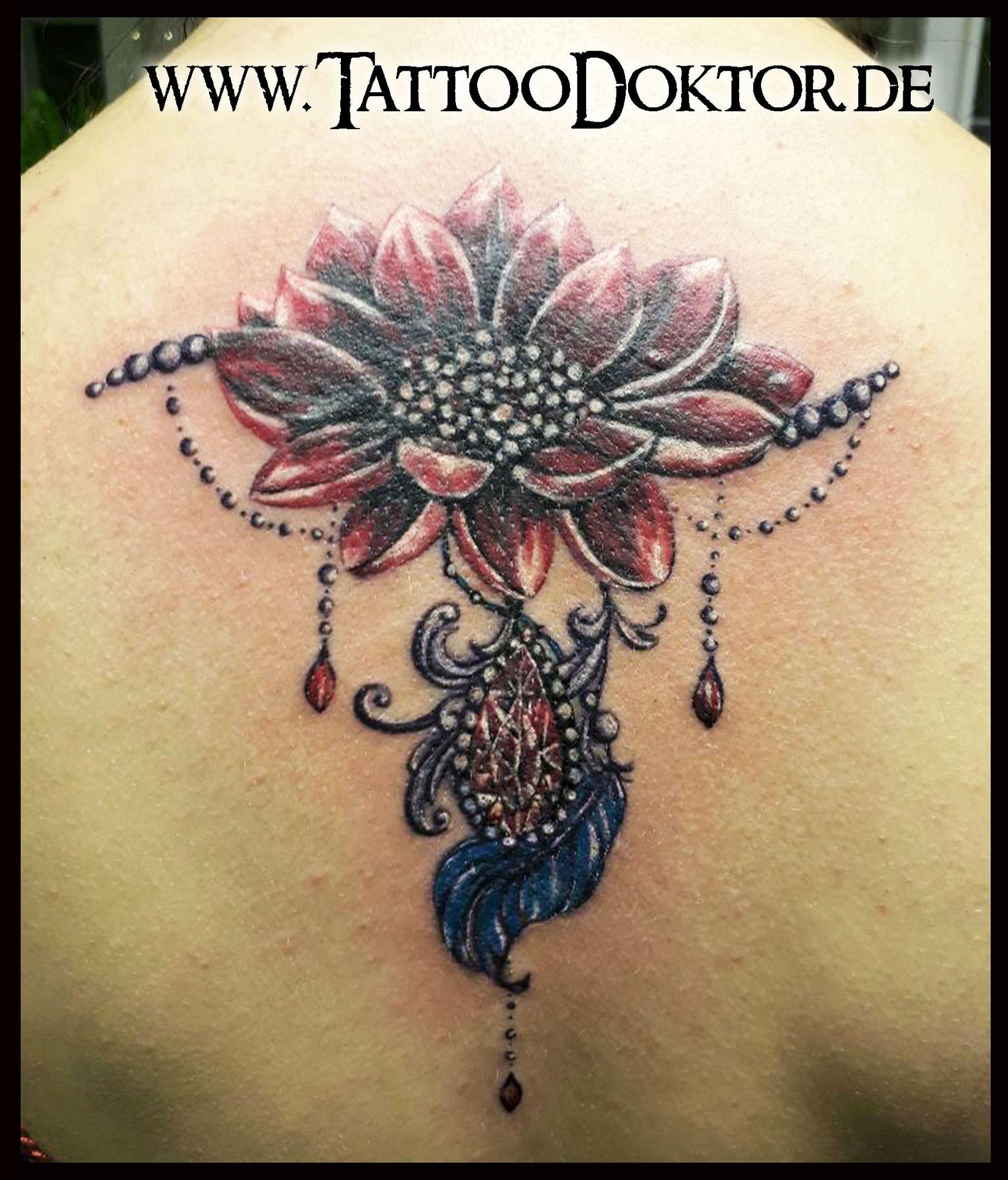 Narbe am bauch tattoo