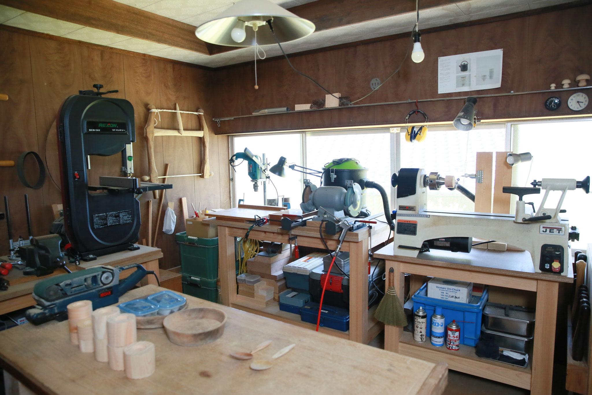 岐阜県美濃市片知渓谷 癒しの木工ギャラリーきのこま