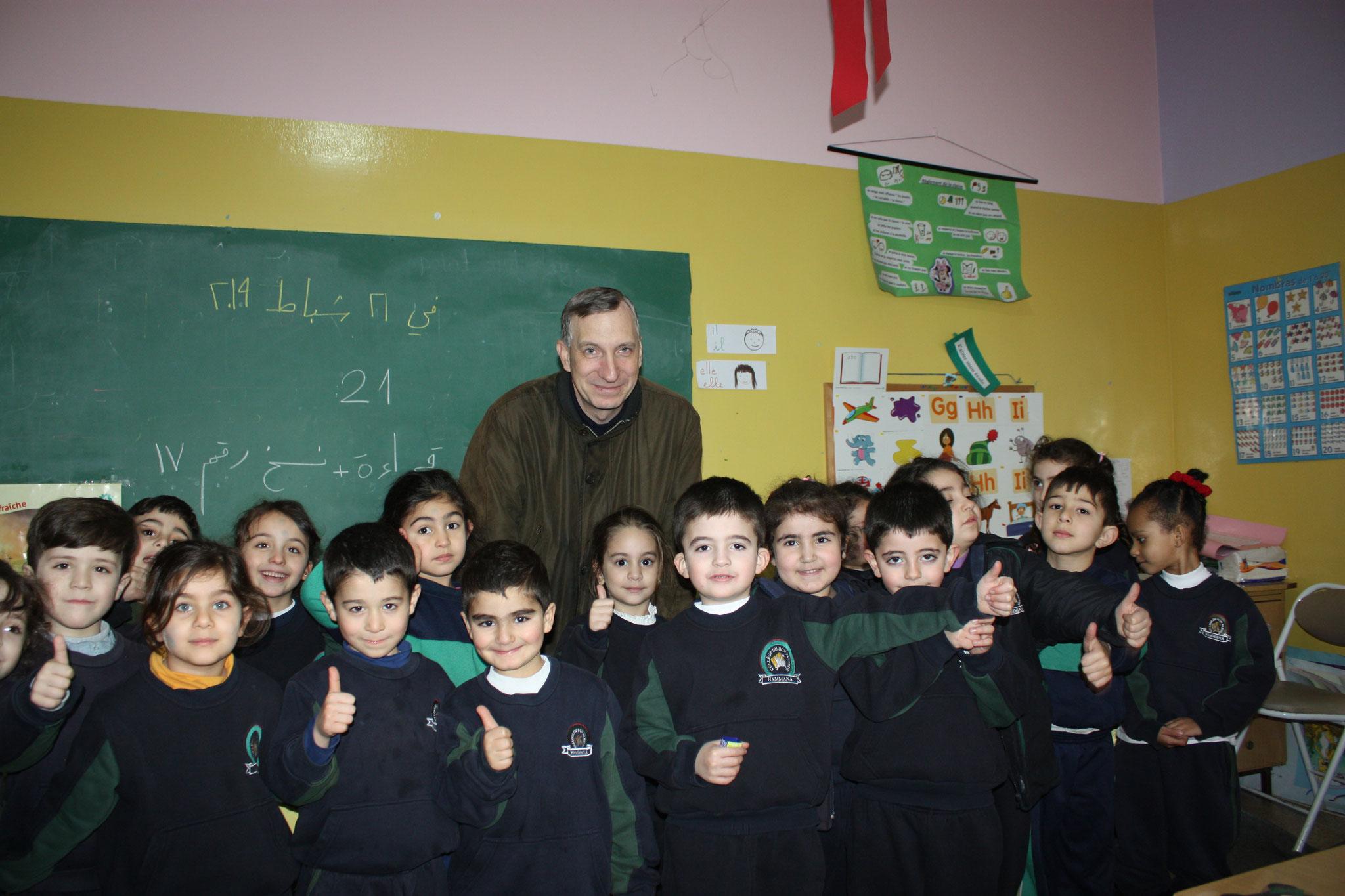 ICO-Projektkoordinator Stefan Maier zu Besuch in Hammana