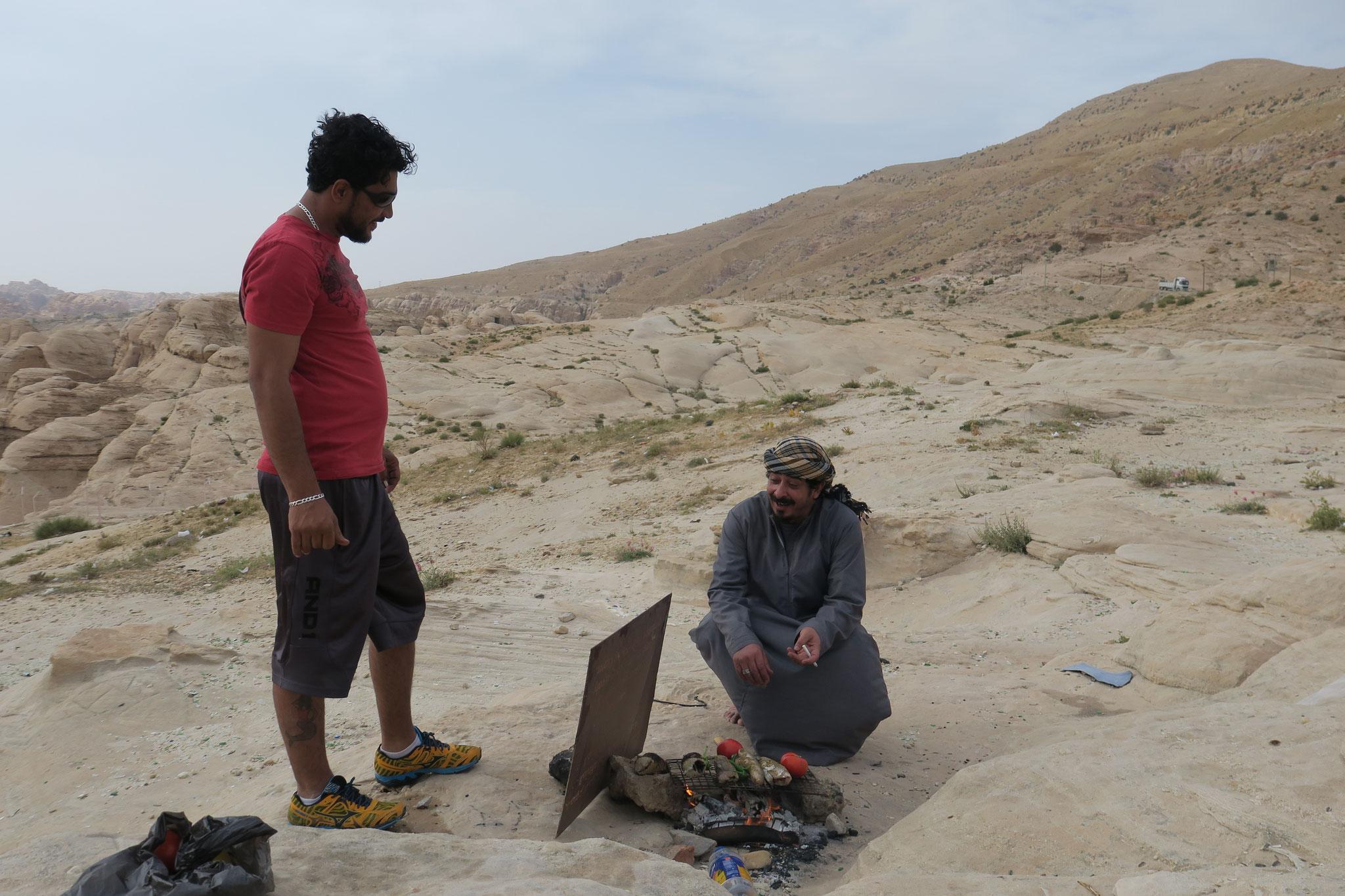 Ein Großteil der Bevölkerung sind Beduinen.