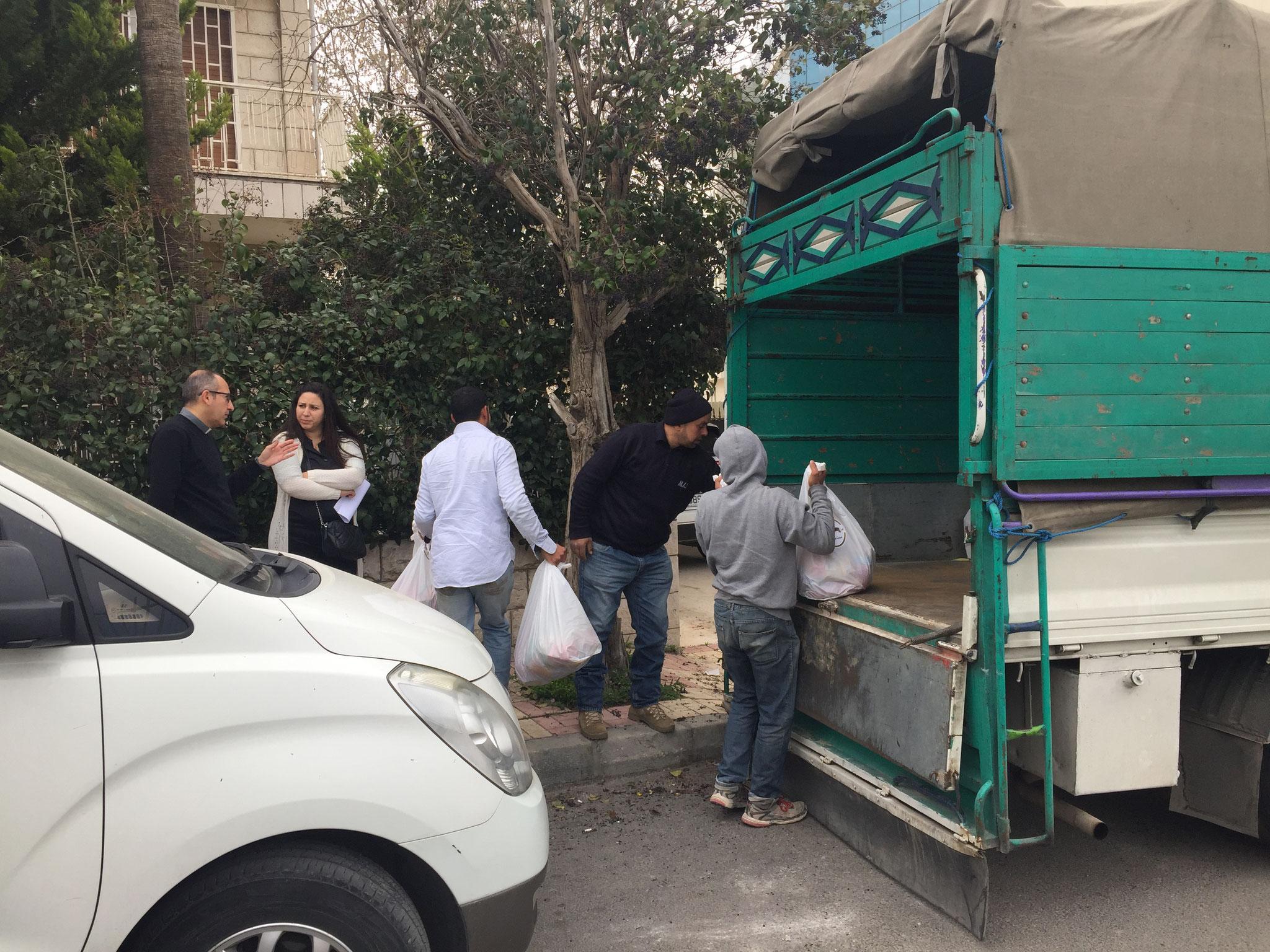 ICO-Corona Soforthilfe: gemeinsam mit ICO Projektpartner der Orthodoxen Initiative kommt Hilfe an