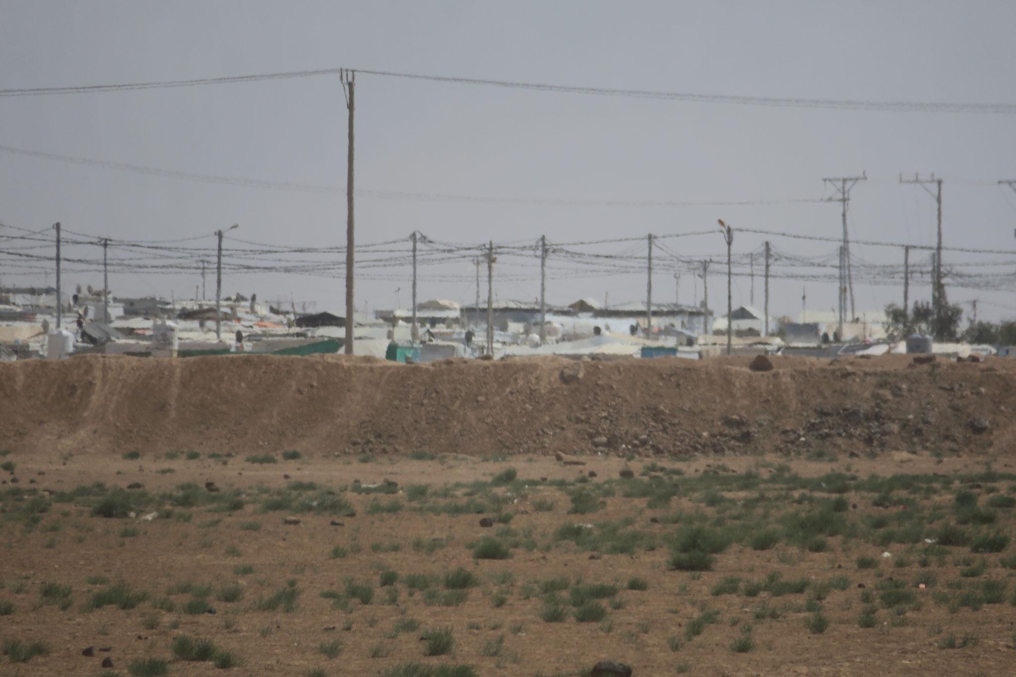 Flüchtlingslager in der Nähe von Mafraq: Jordanien ist massiv vom Syrien-Krieg betroffen. Es hat rund 660.000 syrische Flüchtlinge aufgenommen.