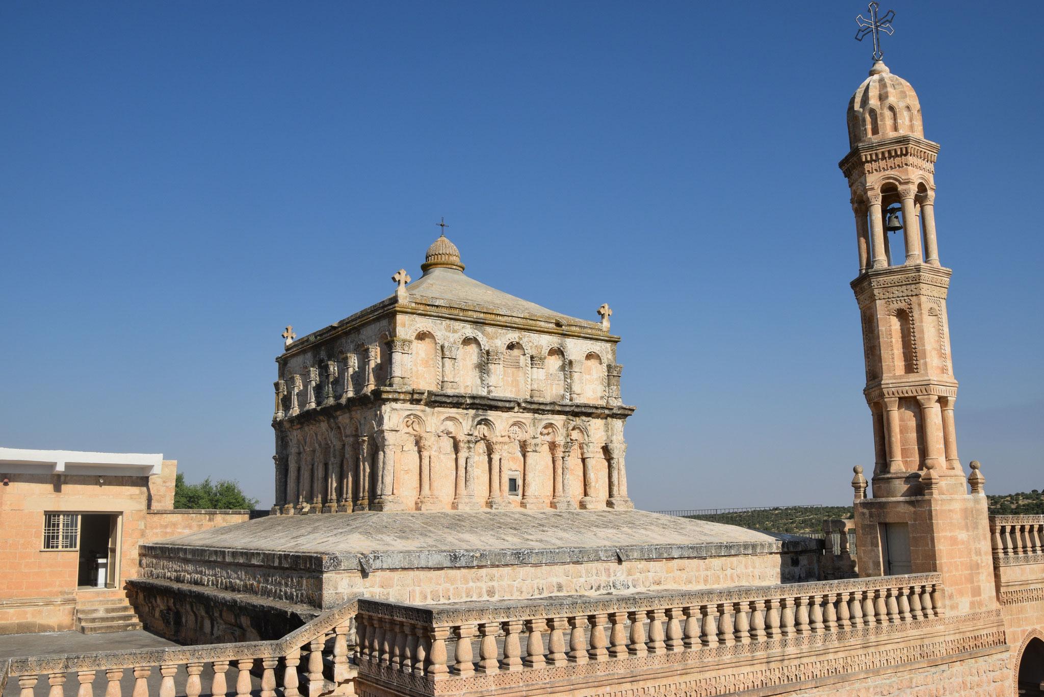 Die Marienkirche von Hah zählt zu den bekanntesten und am besten erhaltenen Gotteshäusern im Tur Abdin.