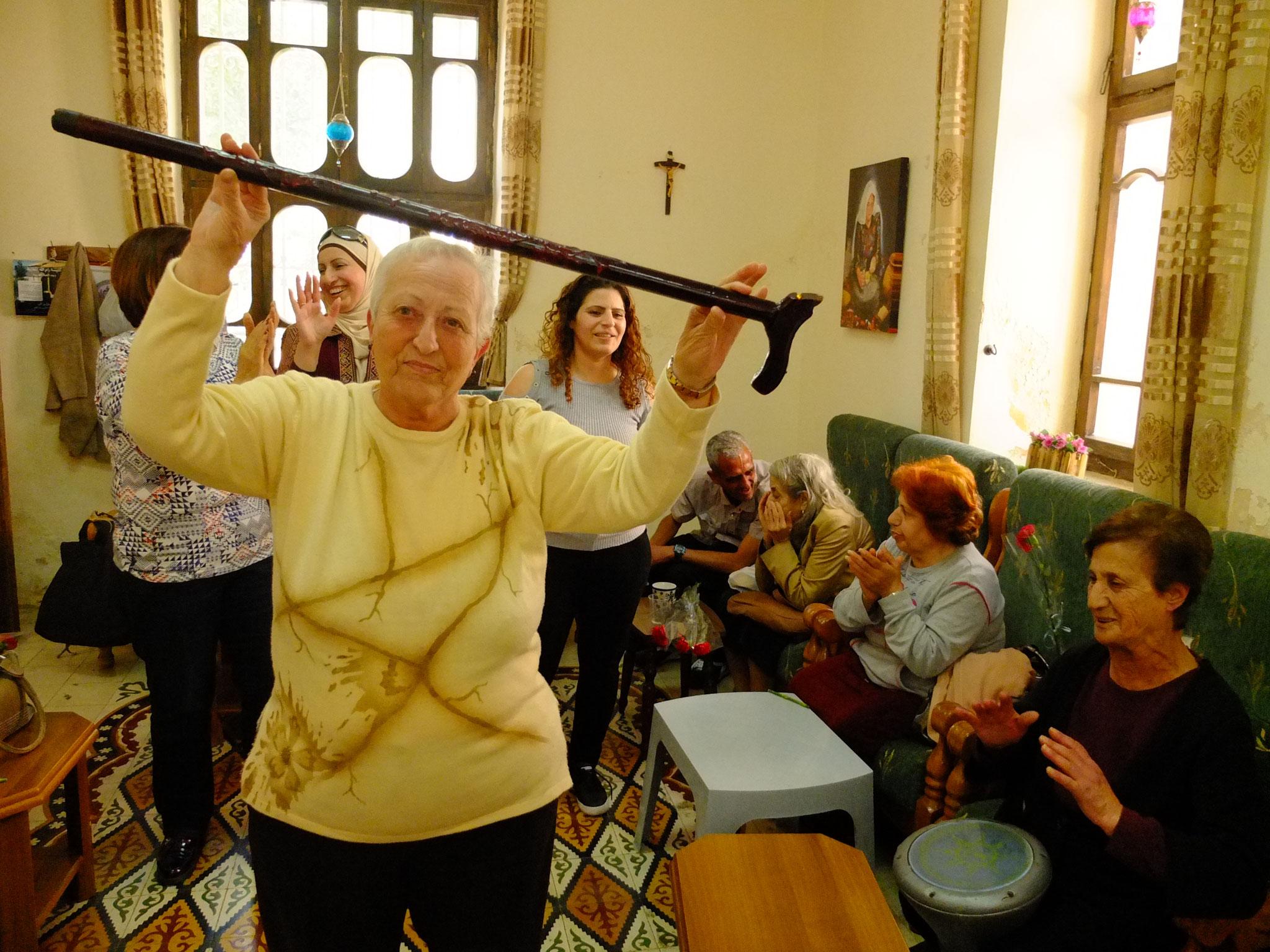 Tagesbetreuungsstätte der Caritas Jerusalem für ältere Menschen in Ramallah