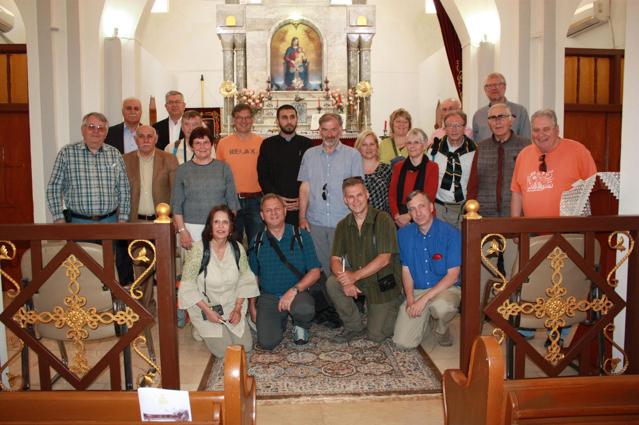 Die ICO Gruppe besucht die armenische Gemeinde in Zakho