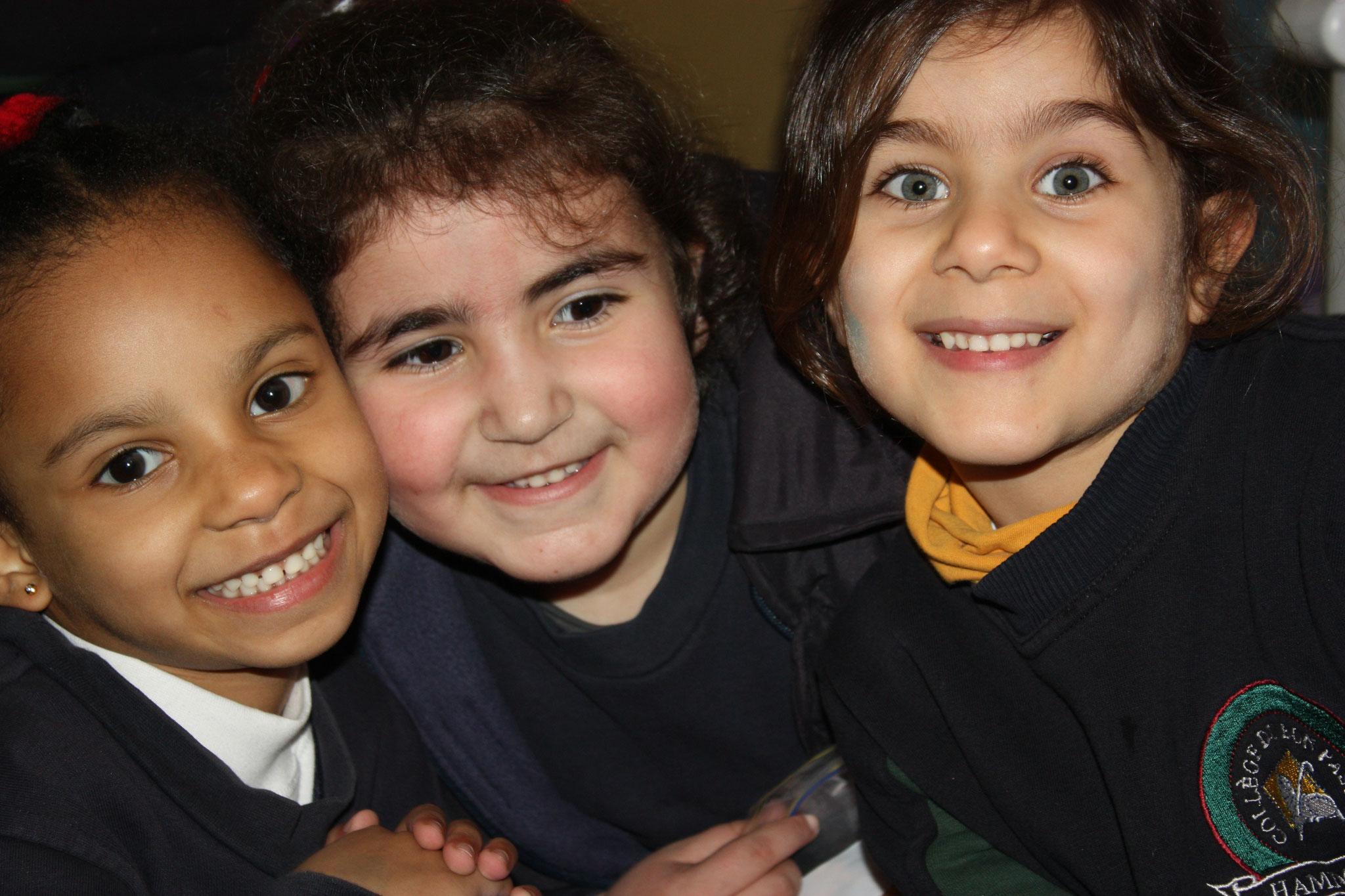 Schüler einer Ordensschule in Hammana