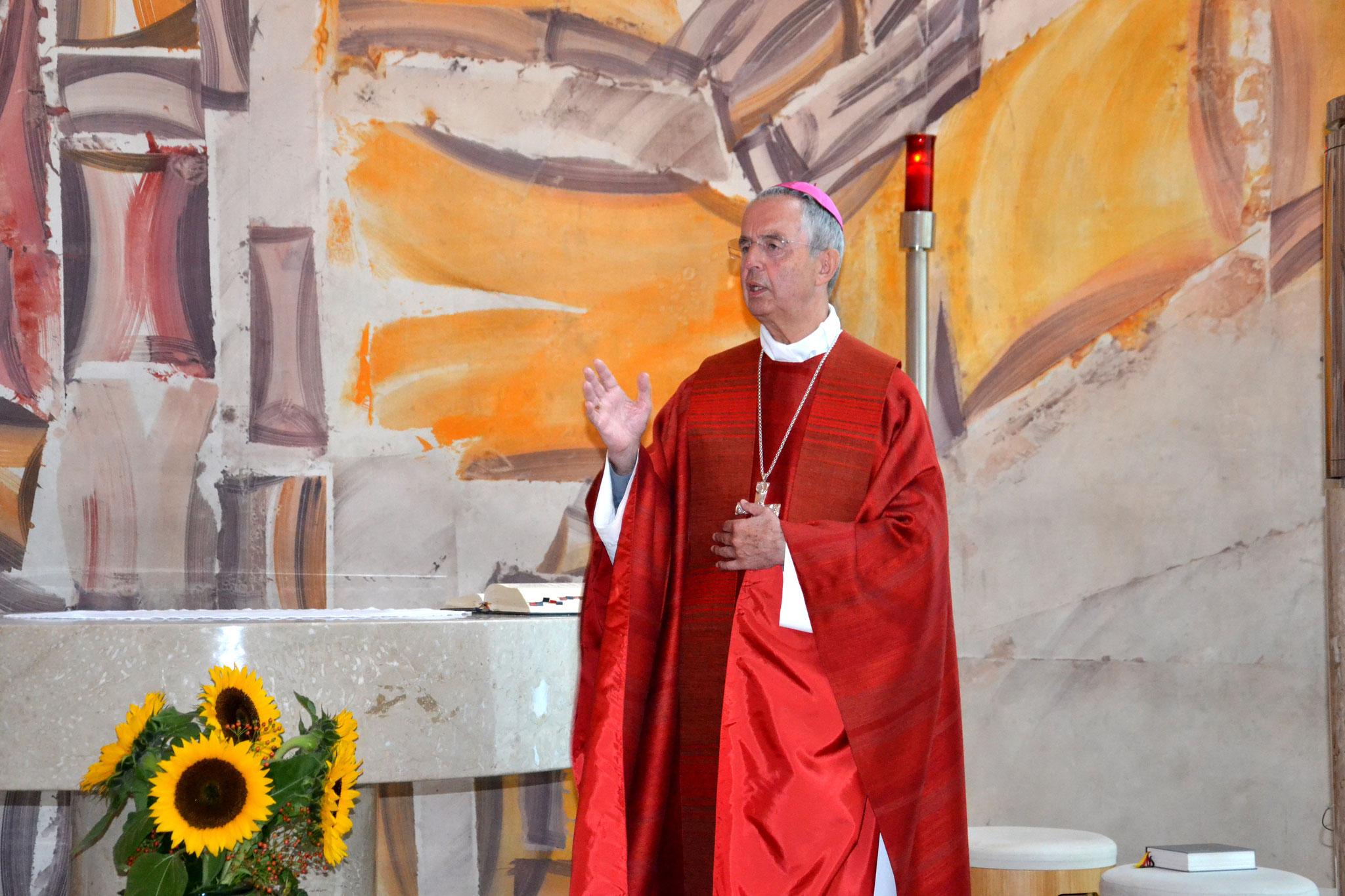 Der Salzburger Weihbischof Hansjörg Hofer stand der Morgenmesse am zweiten Tag der Tagung vor.