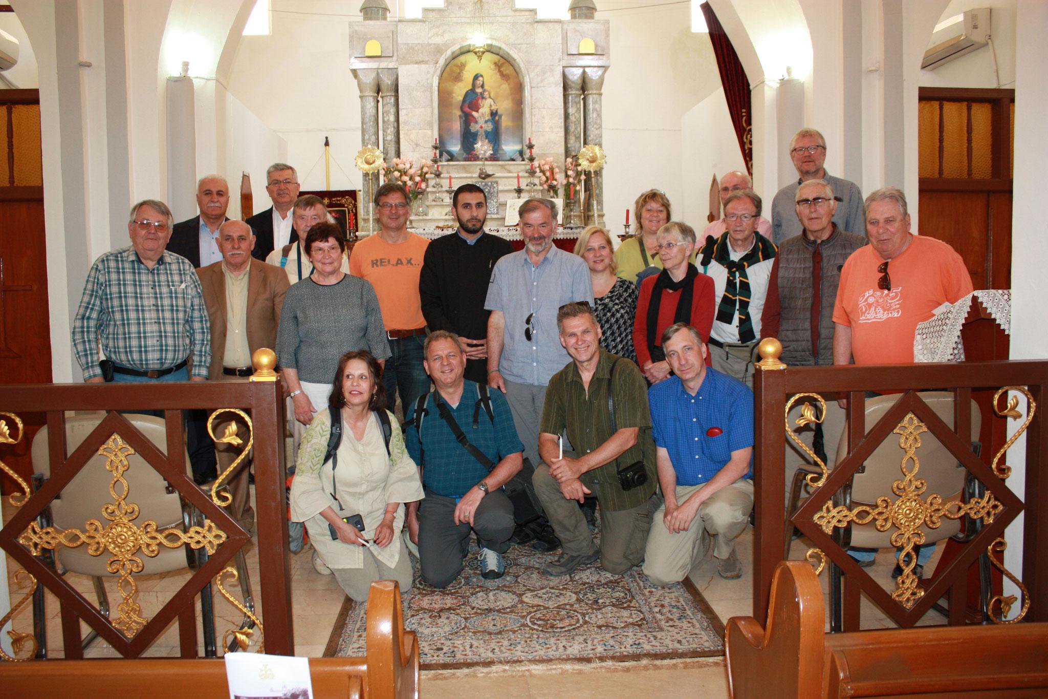 ICO-Delegation zu Besuch bei der armenischen Gemeinde in Zakho