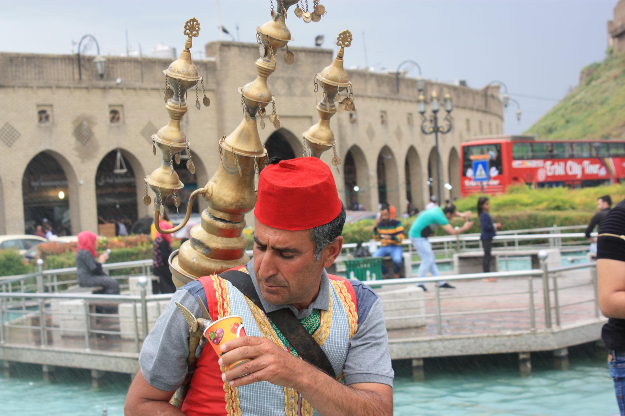 Saftverkäufer in Erbil