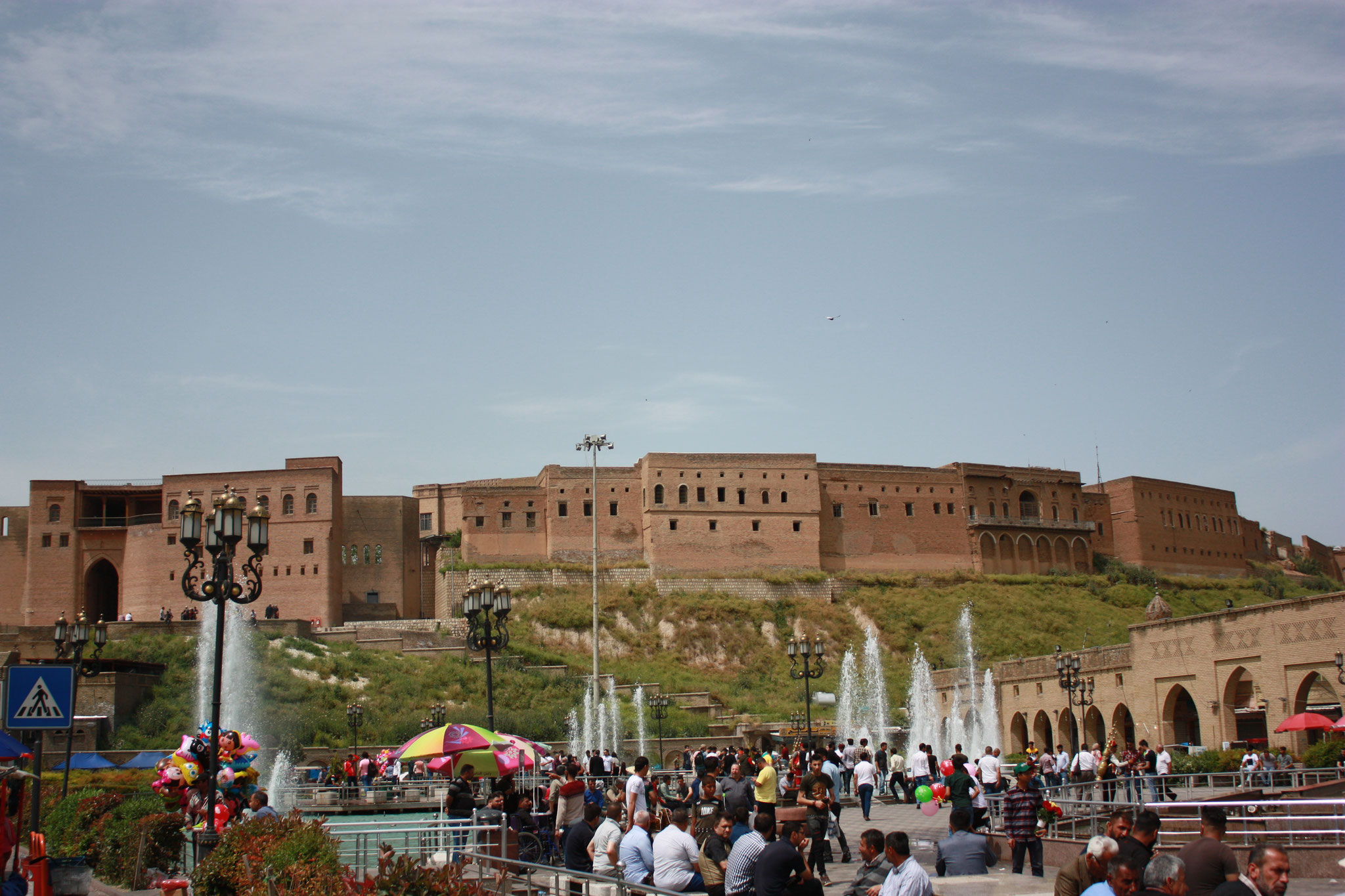 Die Zitadelle von Erbil