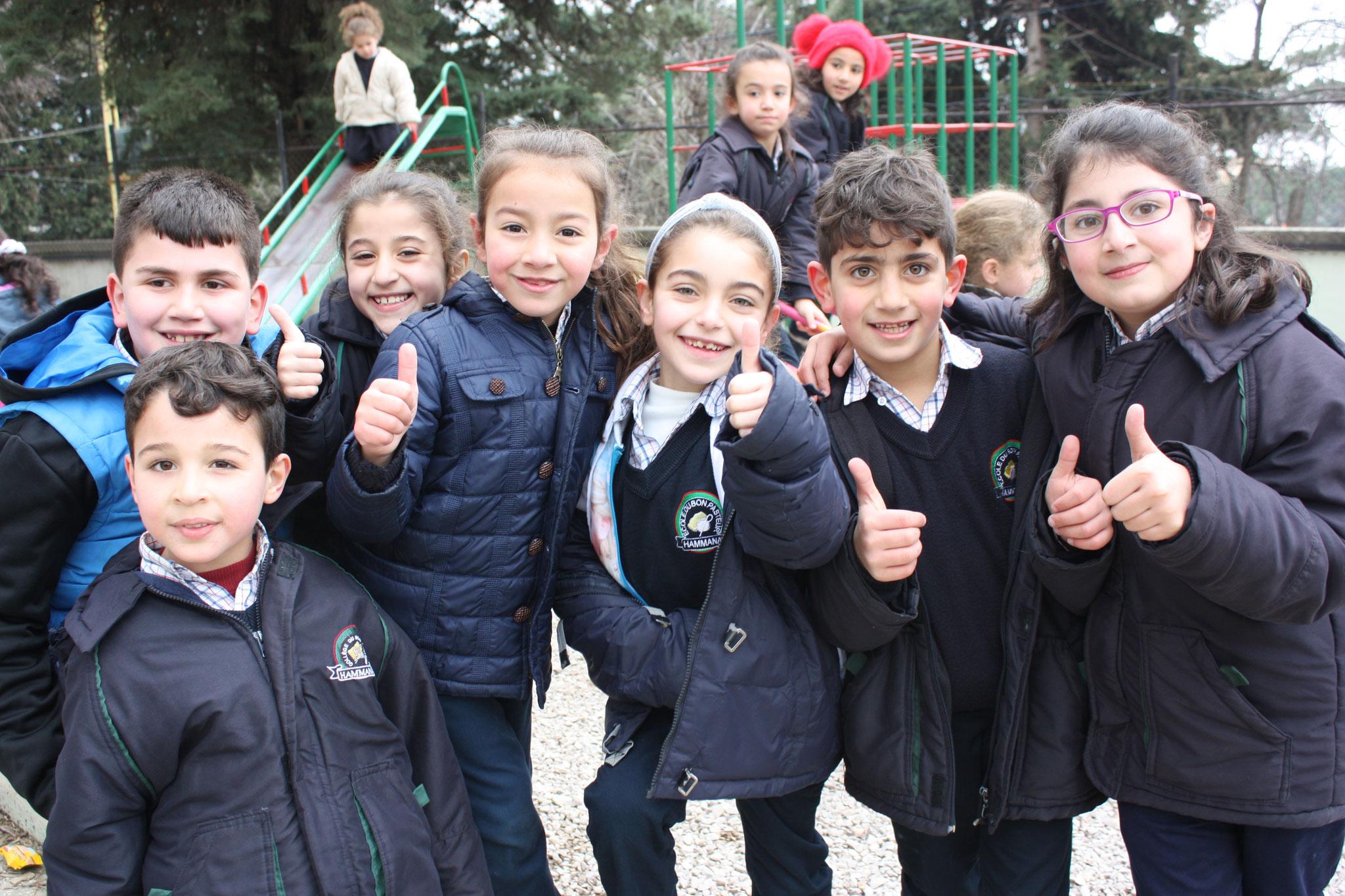 Schule der Schwestern vom Guten Hirten in Hammana