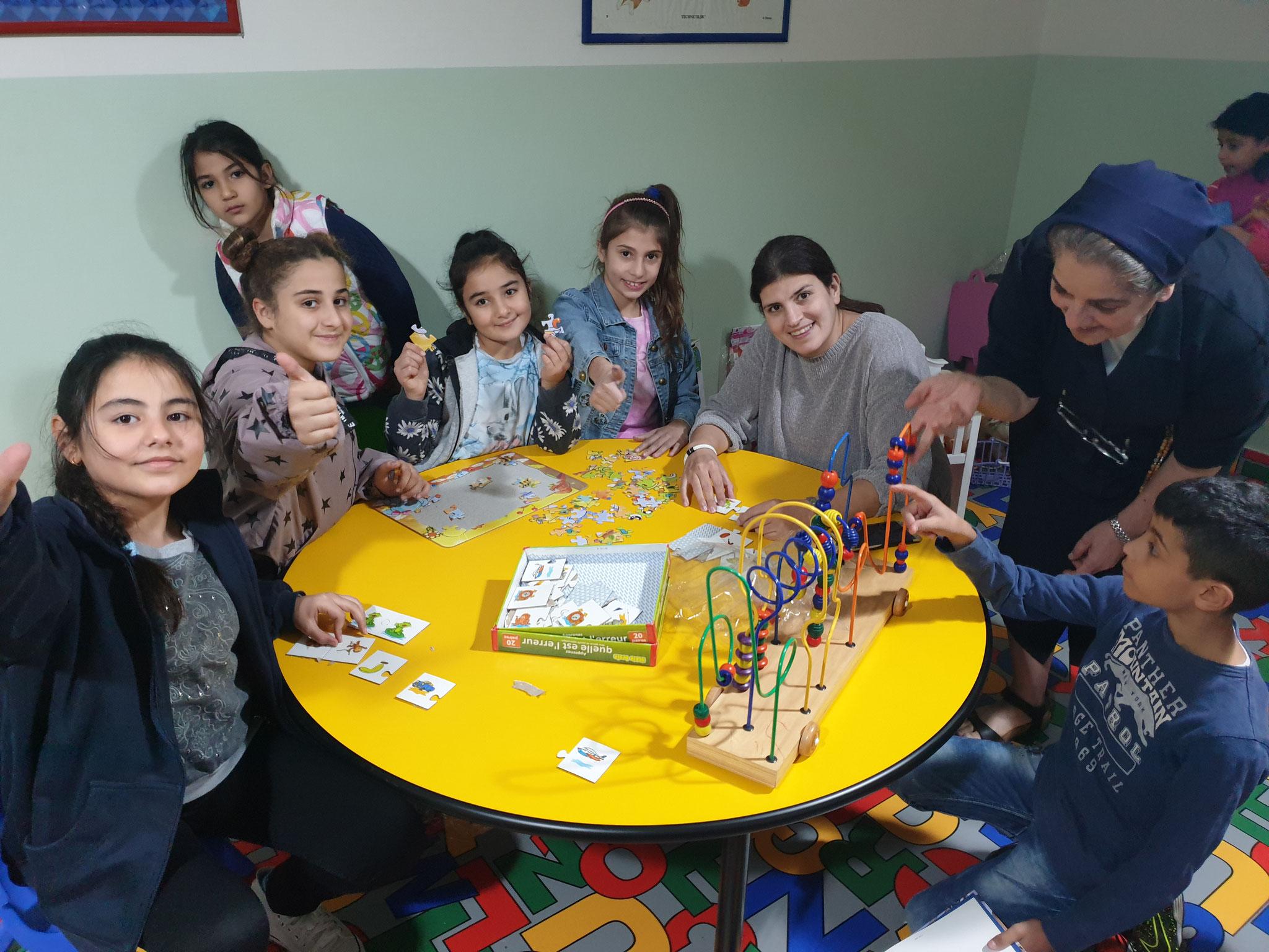 Neues Spielzimmer im Haus St. Josef der Barmherzigen Schwestern in Ajeltoun