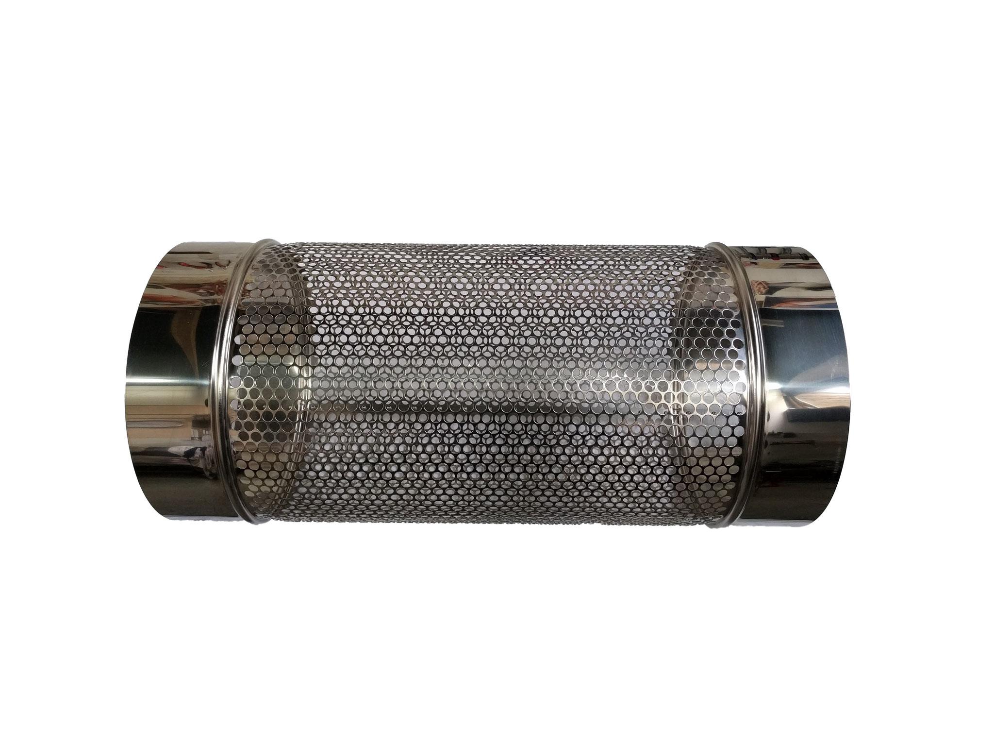 Siebrohr für 315er KG Rohr (DN 300) einseitig verschlossen