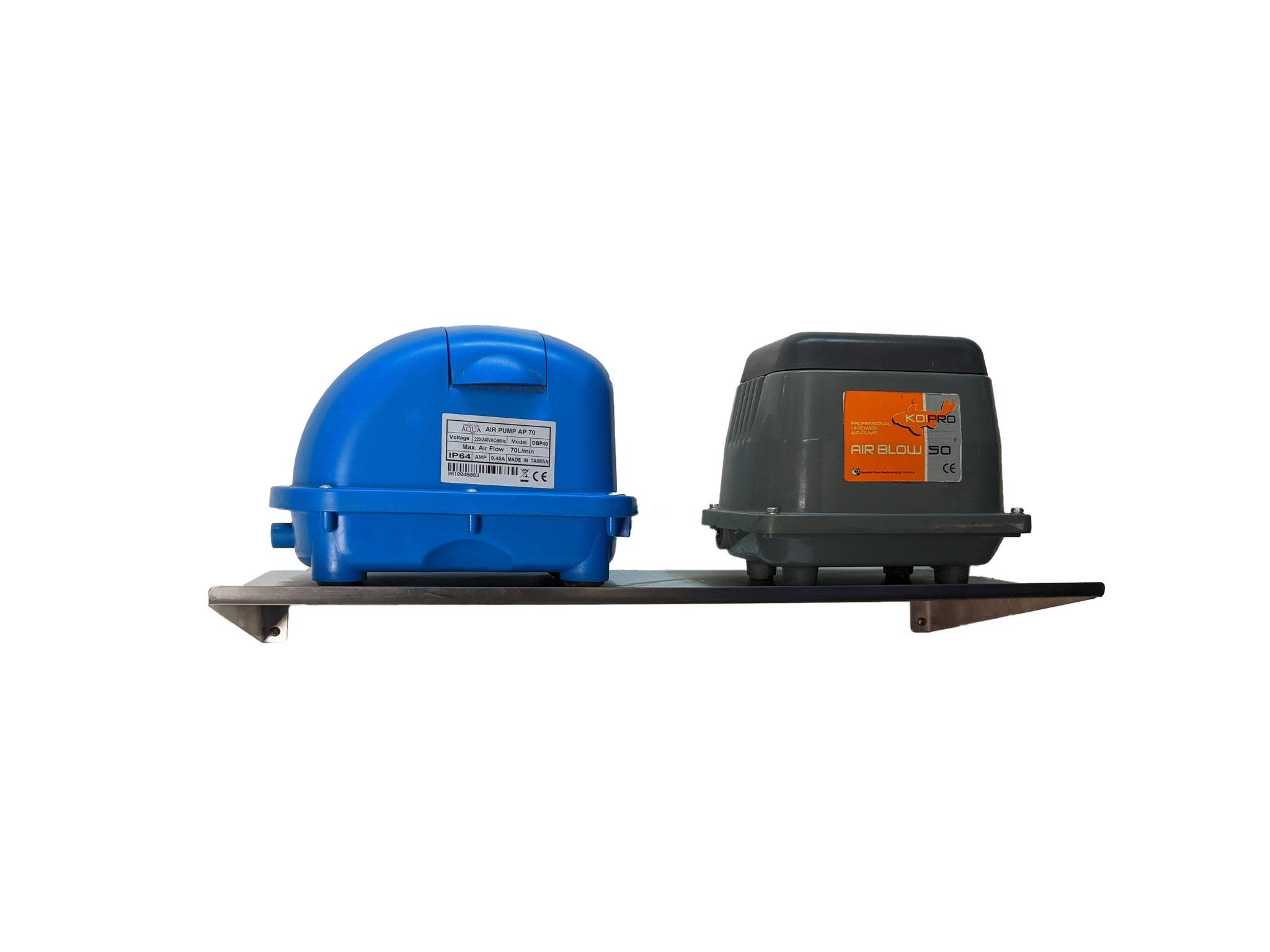 Hiblow Belüfterpumpe Regal 600mm