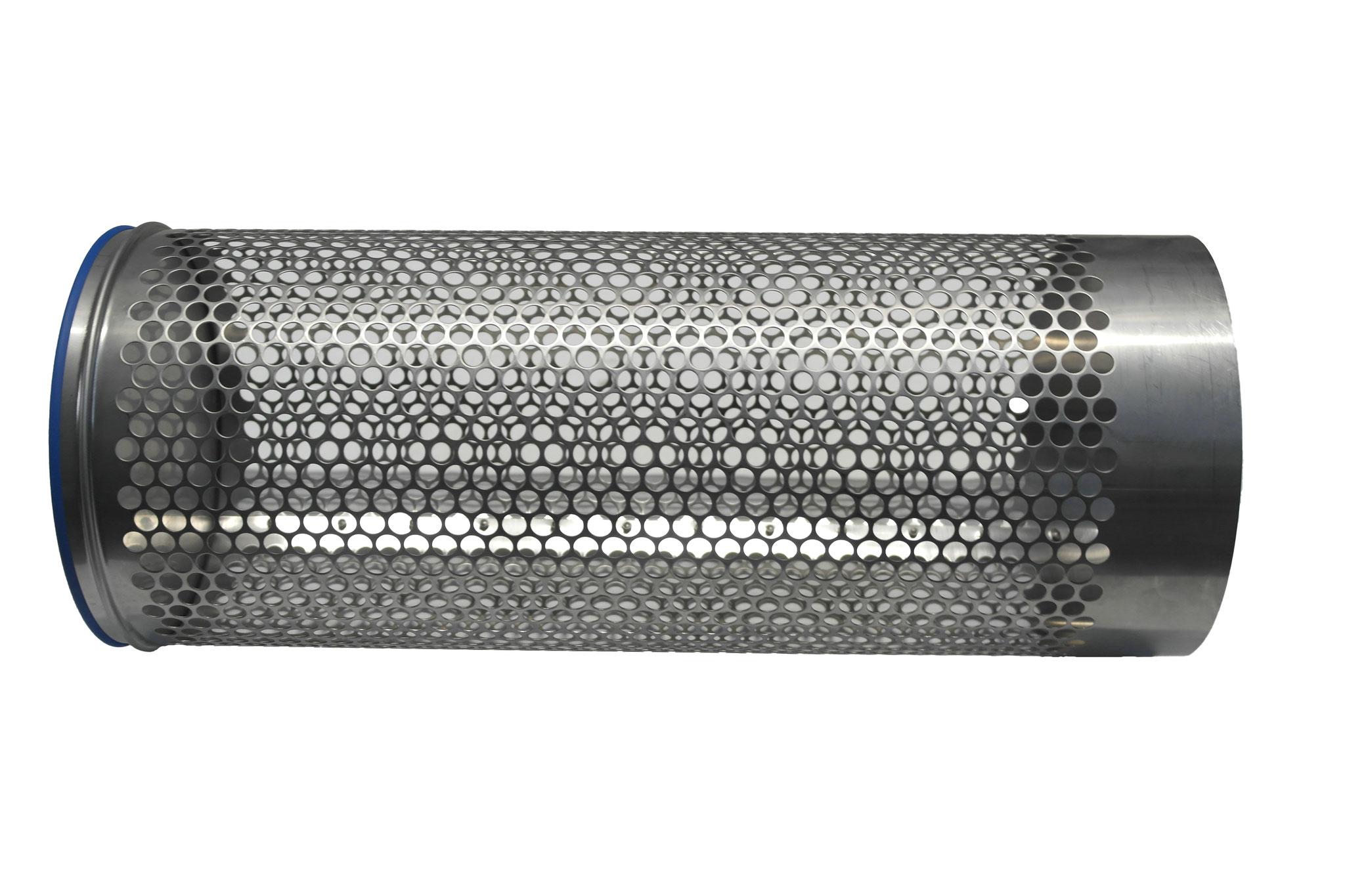 Siebrohr einseitig verschlossen für 250er KG Rohr (DN 250)