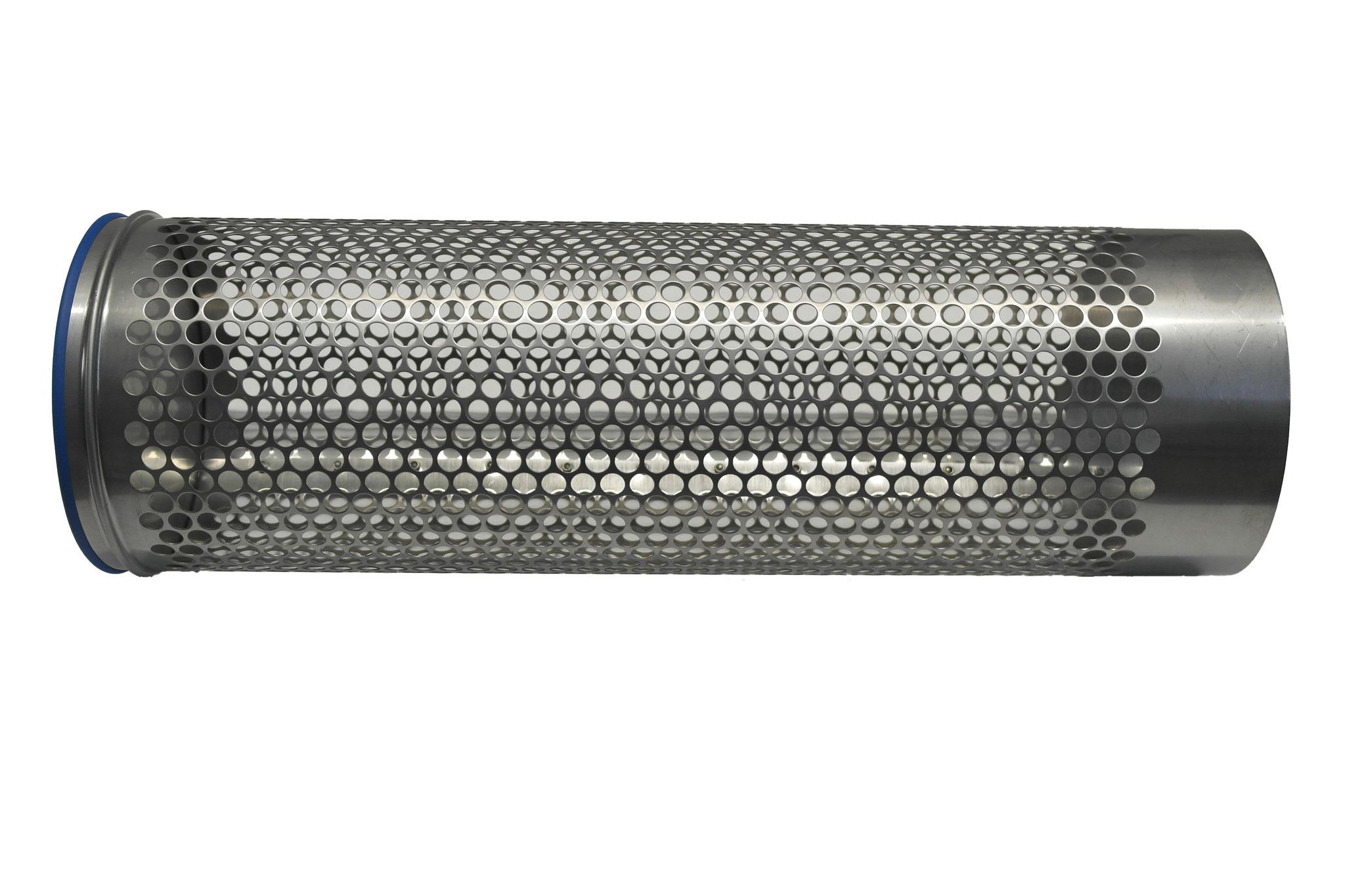 Siebrohr einseitig verschlossen für 160er KG Rohr (DN 150)