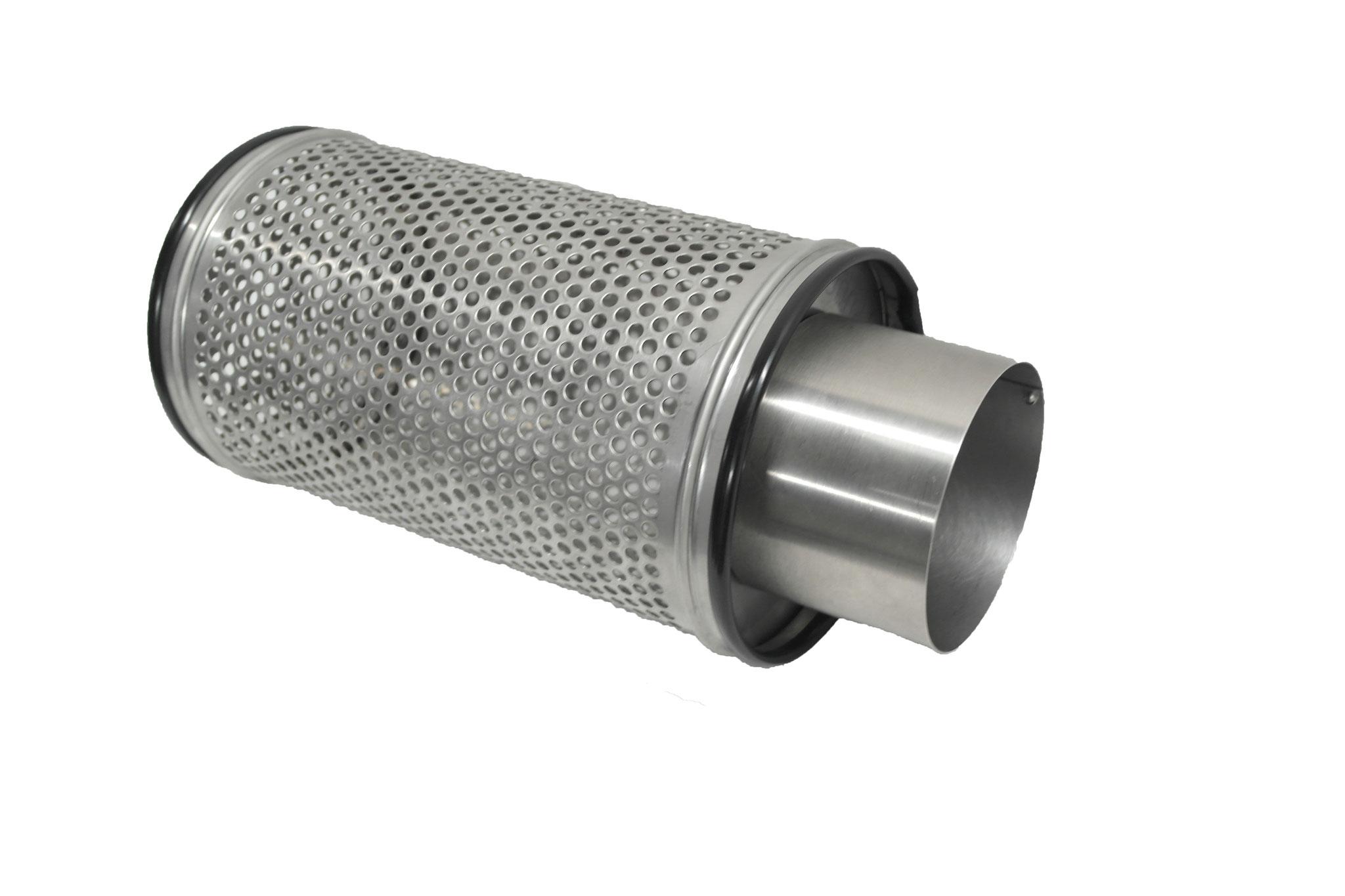 Pumpen Ansaugkorb mit 110er KG Rohr Anschluss Flowfriend Wiremesh HighFil