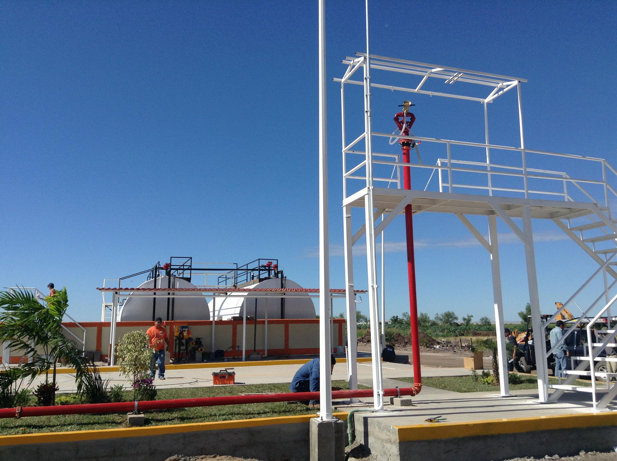 Monitor de espuma AAAF para taqnues de alamcenamiento de Diesel