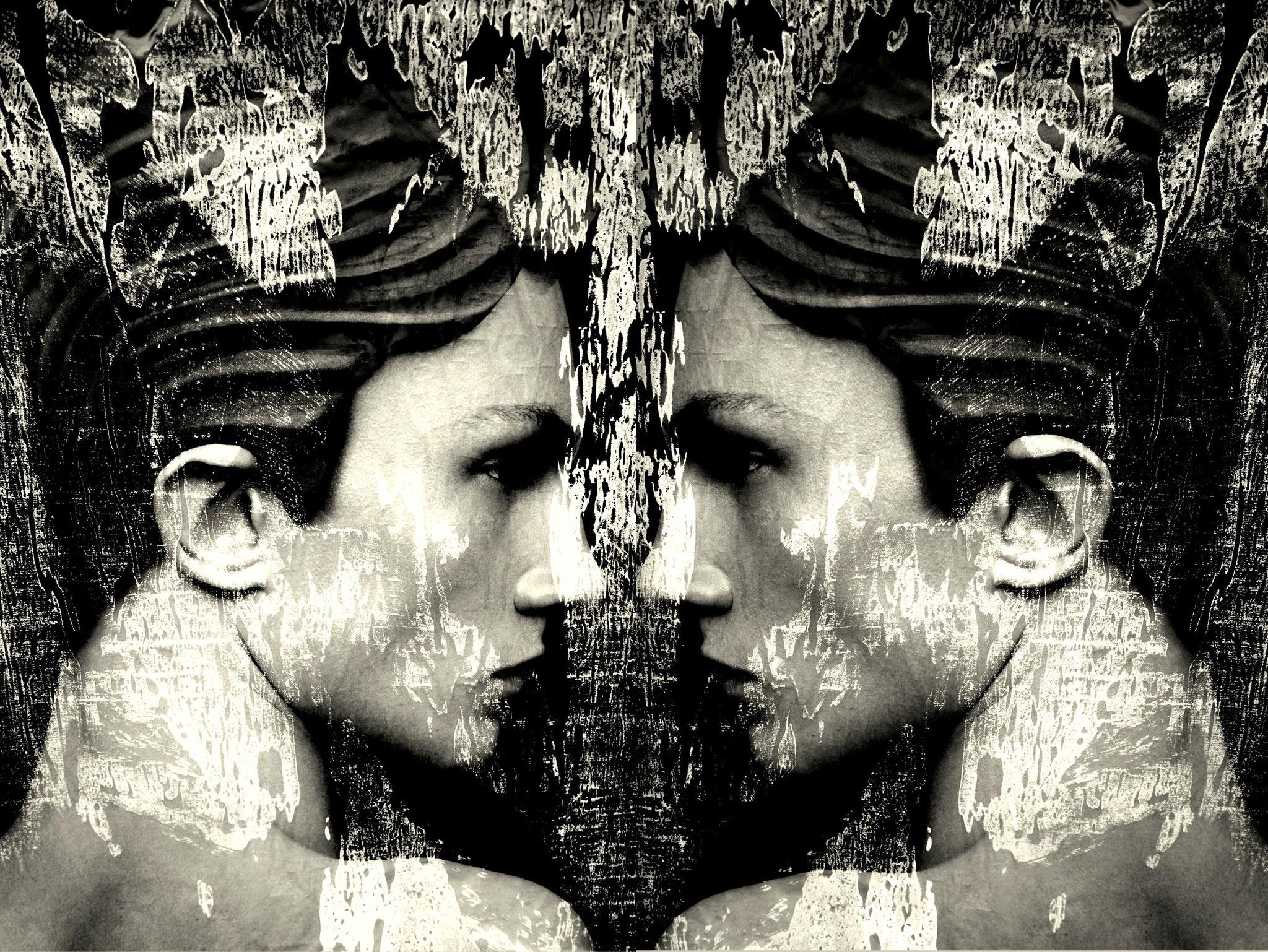 """Augenblick""100x90cm/Digital Art auf Alu -Dibond"
