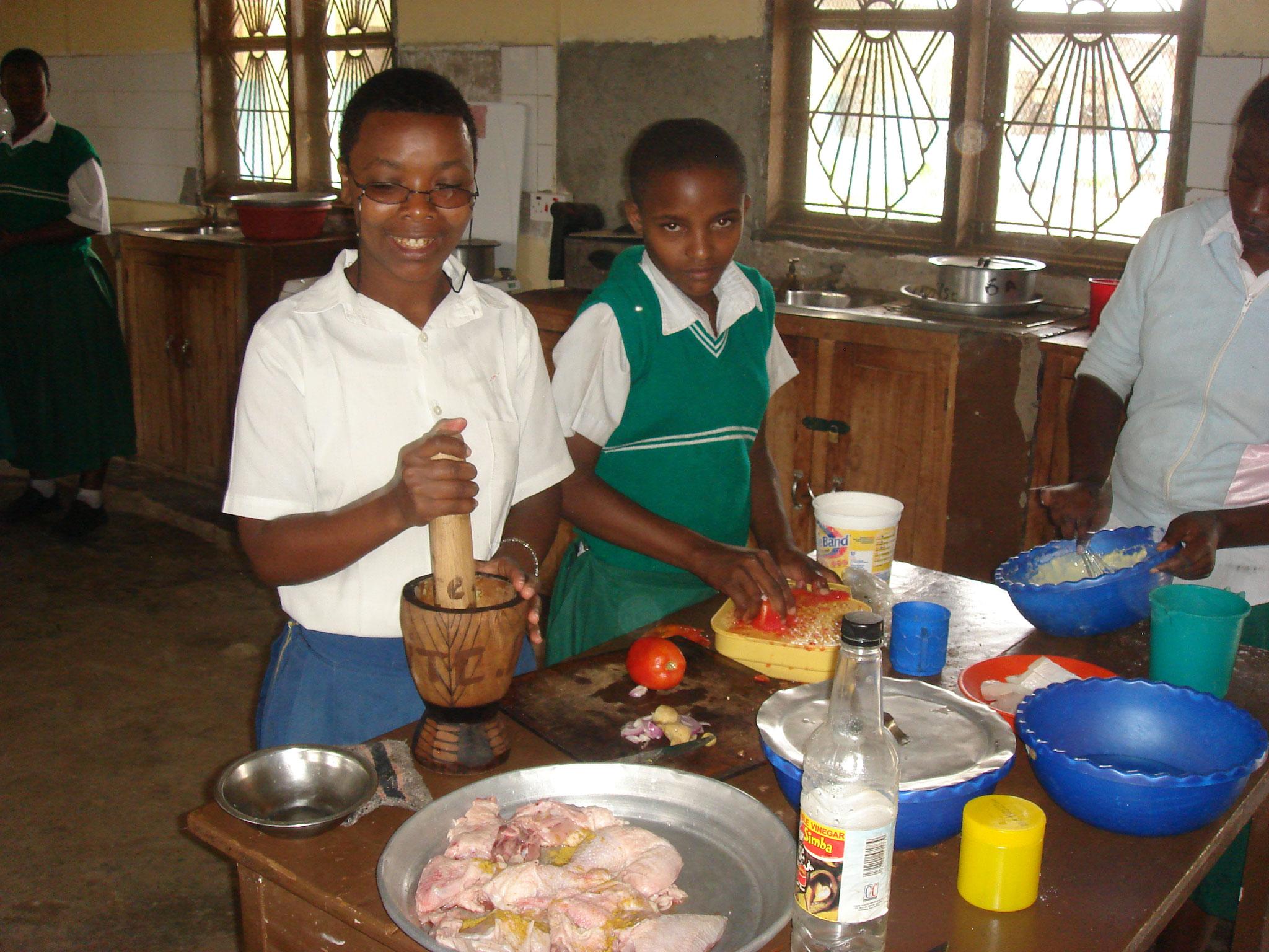 Koch- und Catering-Lehre