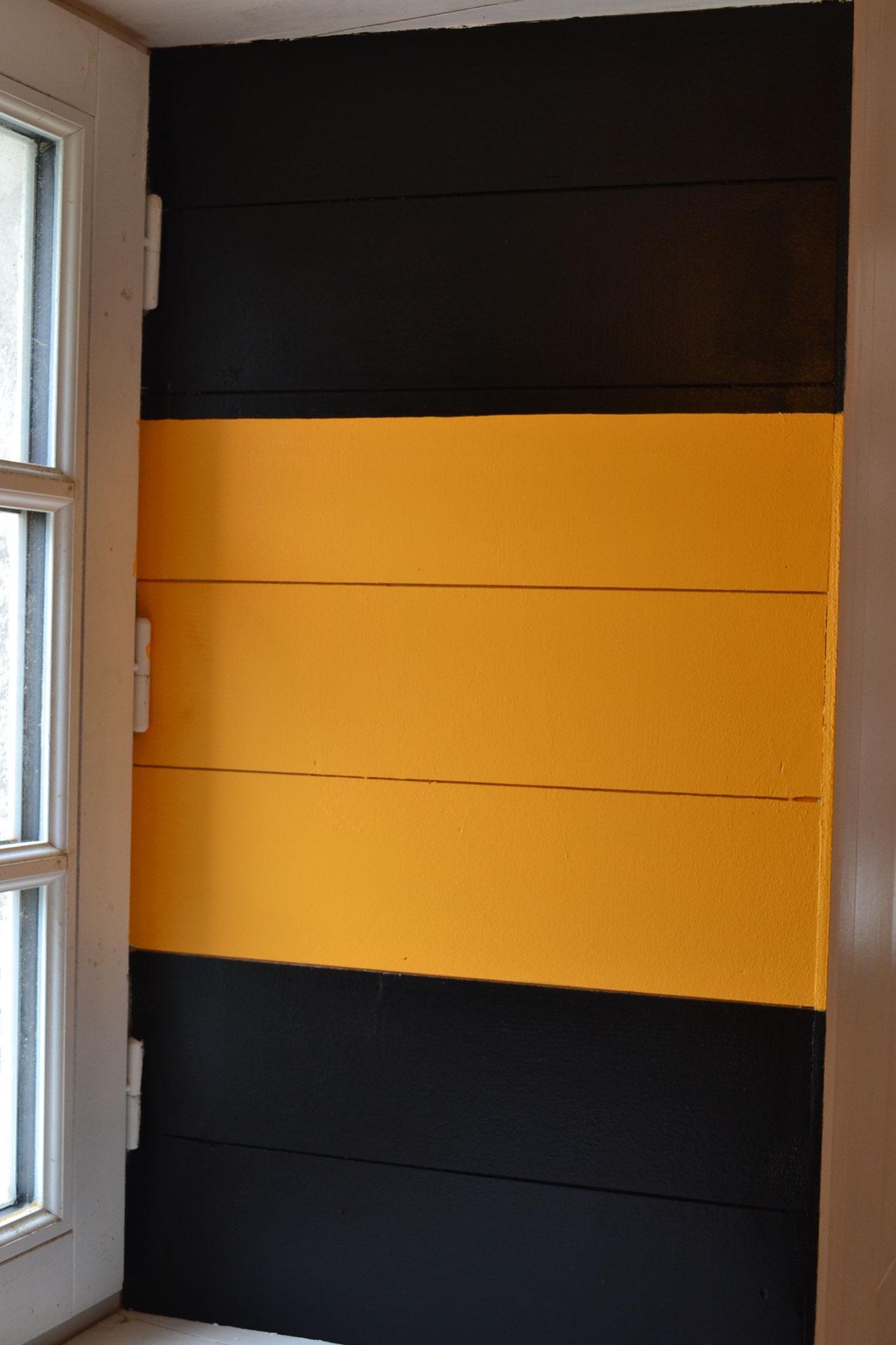 Noir/jaune/noir (cardinale Est)