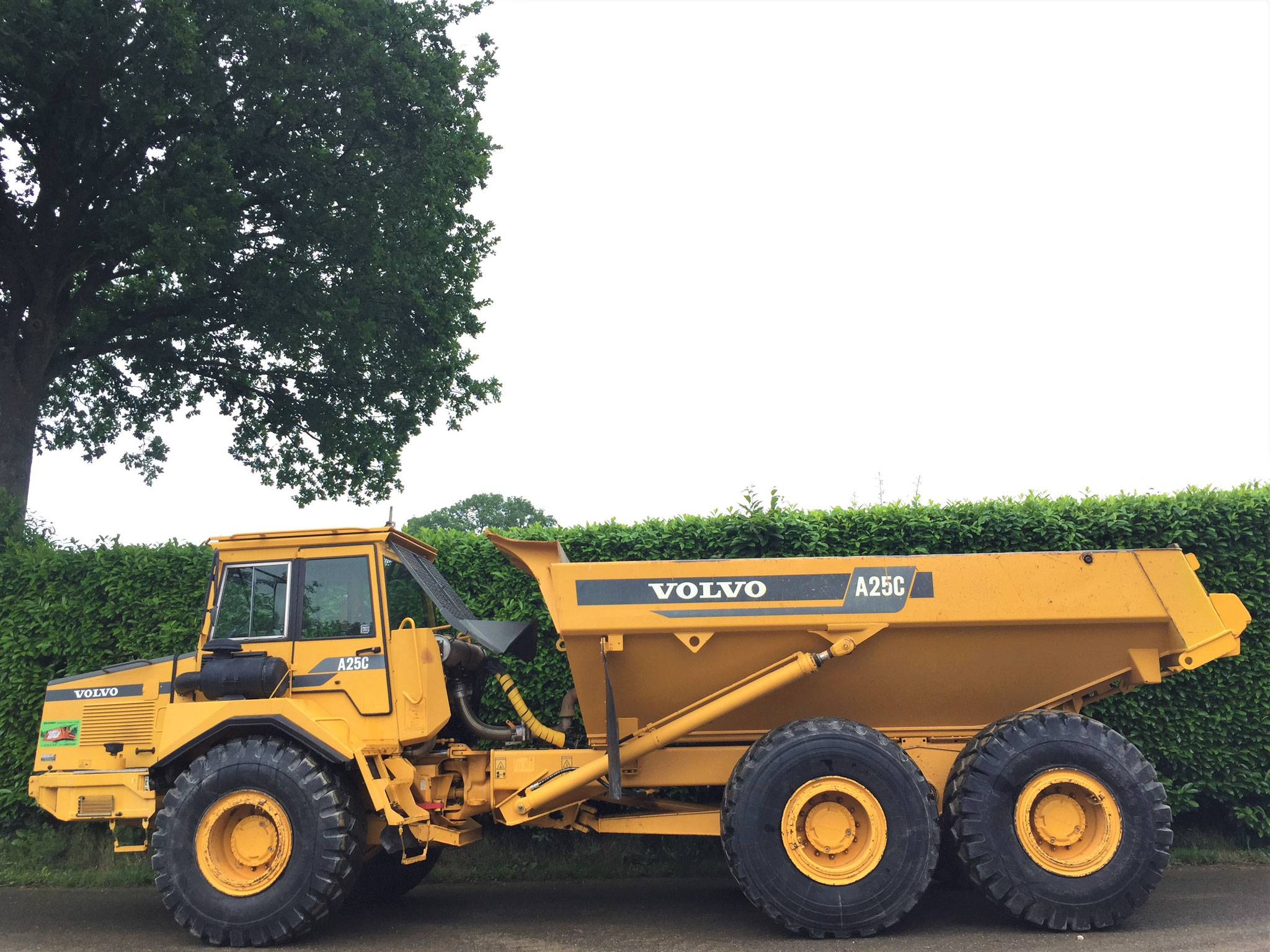 Tombereau Volvo A25