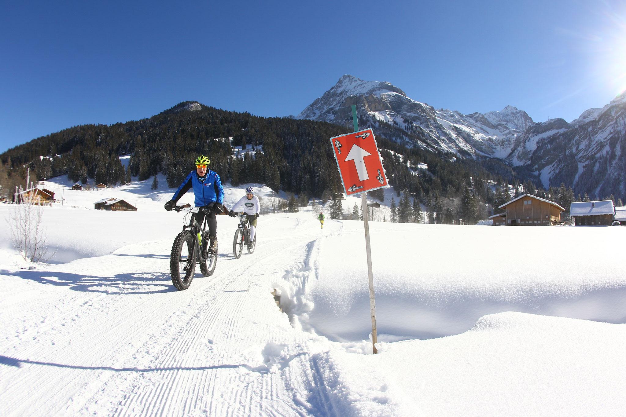 Snowbike Festival zu Gast in Gsteig