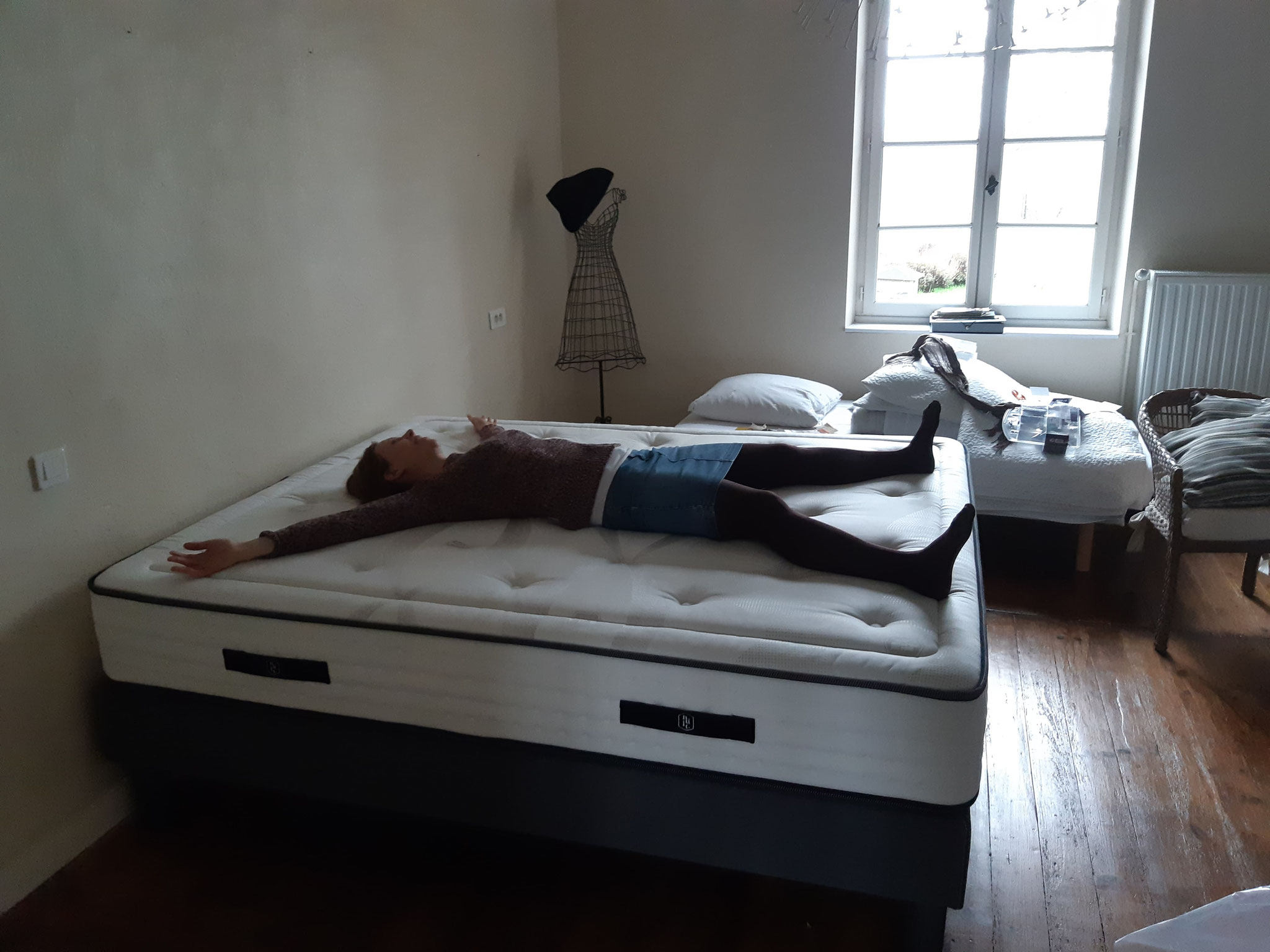 Le lit pour la chambre Euphorbe a été testé - et largement approuvé
