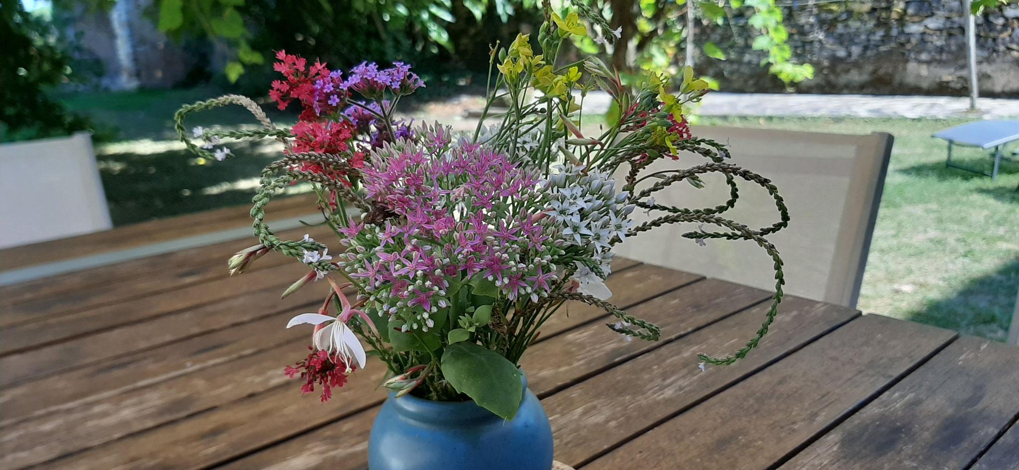 Quelques fleurs du jardin