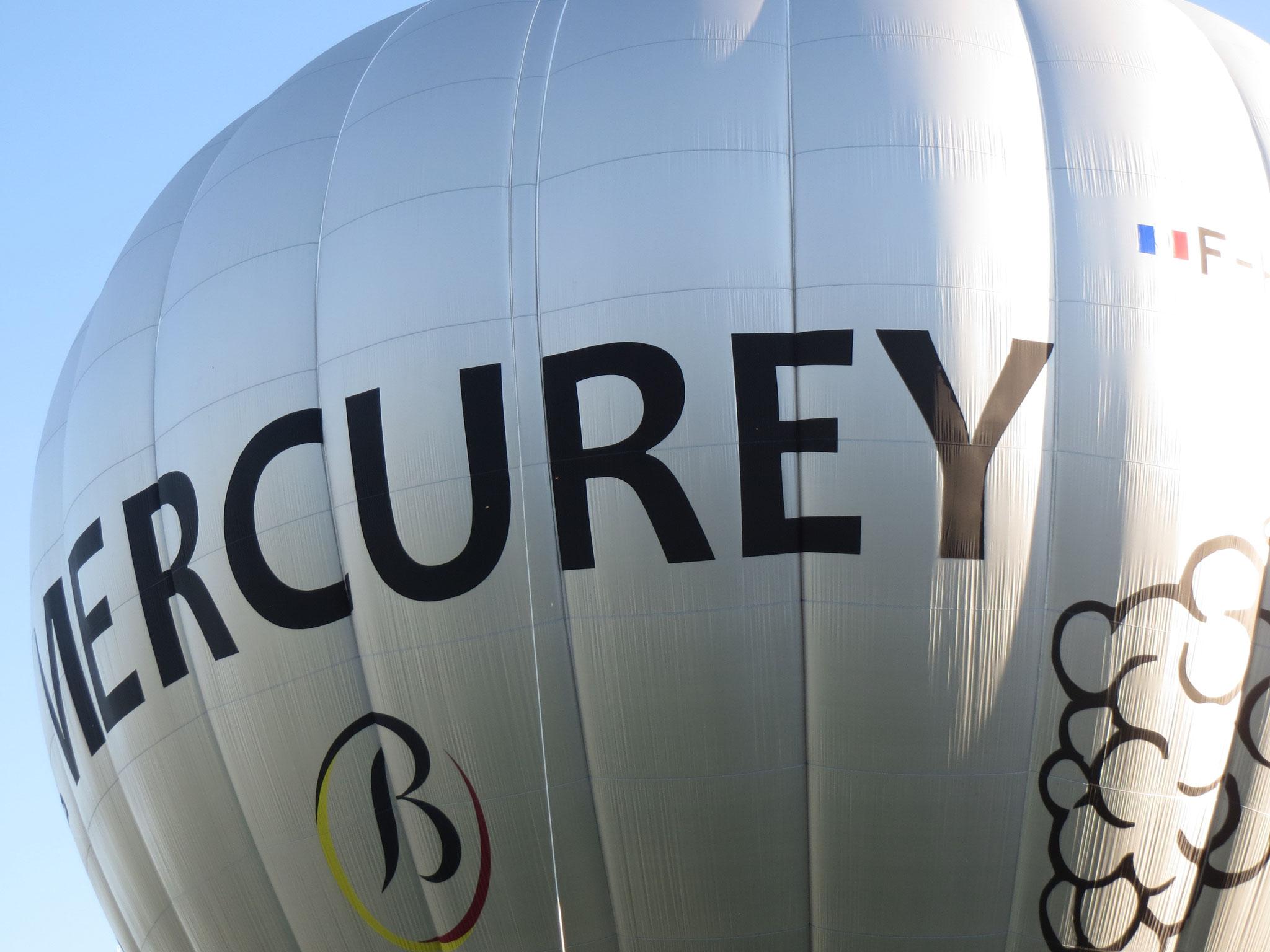La montgolfière de Mercurey pour une promenade dans les airs