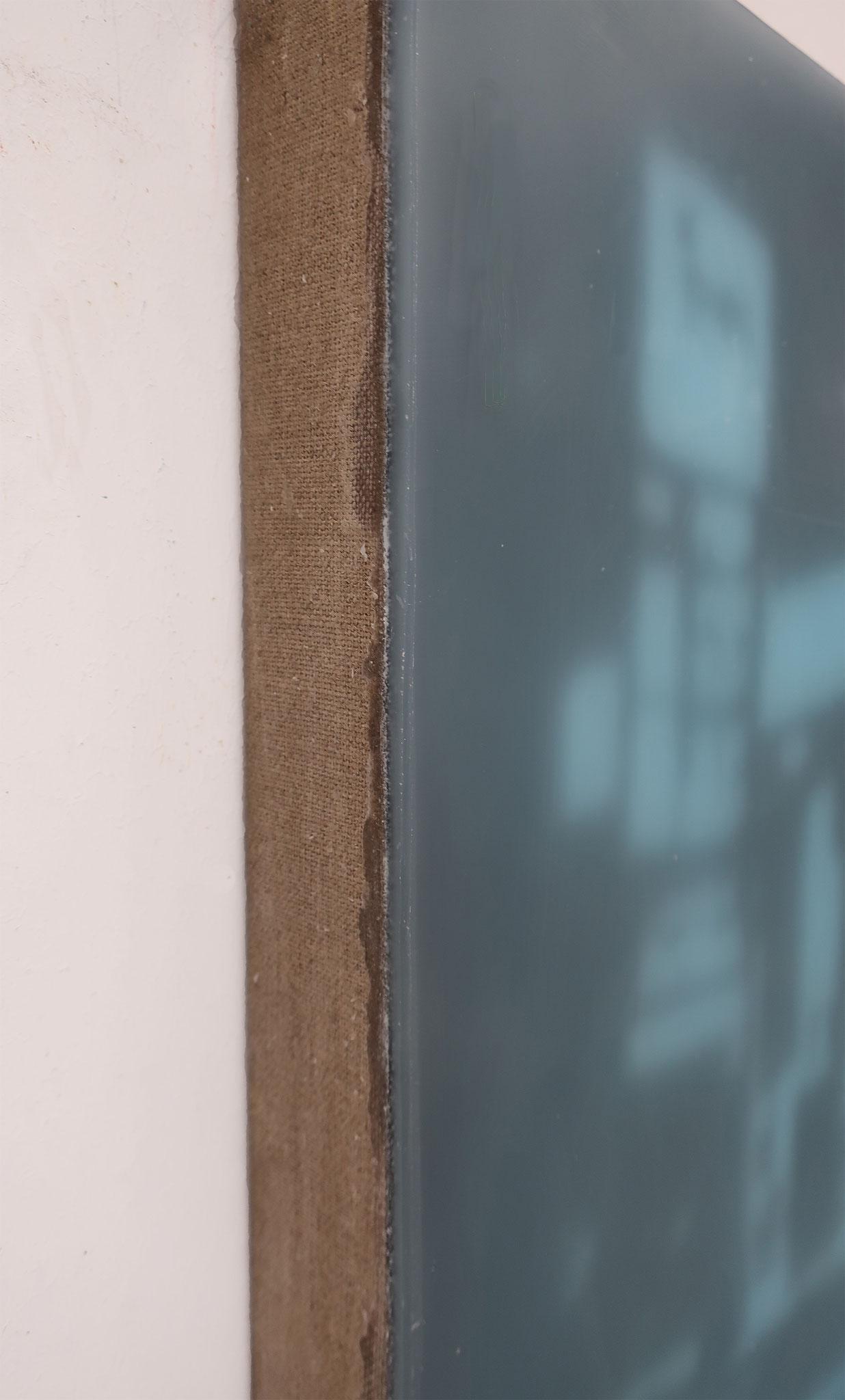 Johannes Kriesche 2016, Lichttempel, Detail, Paraffin, 60x80