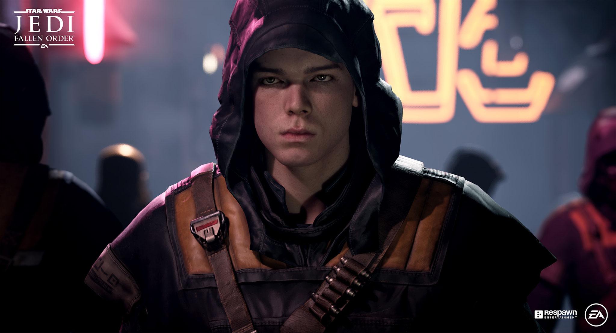 """Bildete das Herzstück von EA's E3-Präsentation, machte aber zumindest optisch nur eine mittelprächtige Figur: Das im """"Star Wars""""-Universum angesiedelte Lichtschwert-Gefuchtel """"Jedi: Fallen Order"""""""