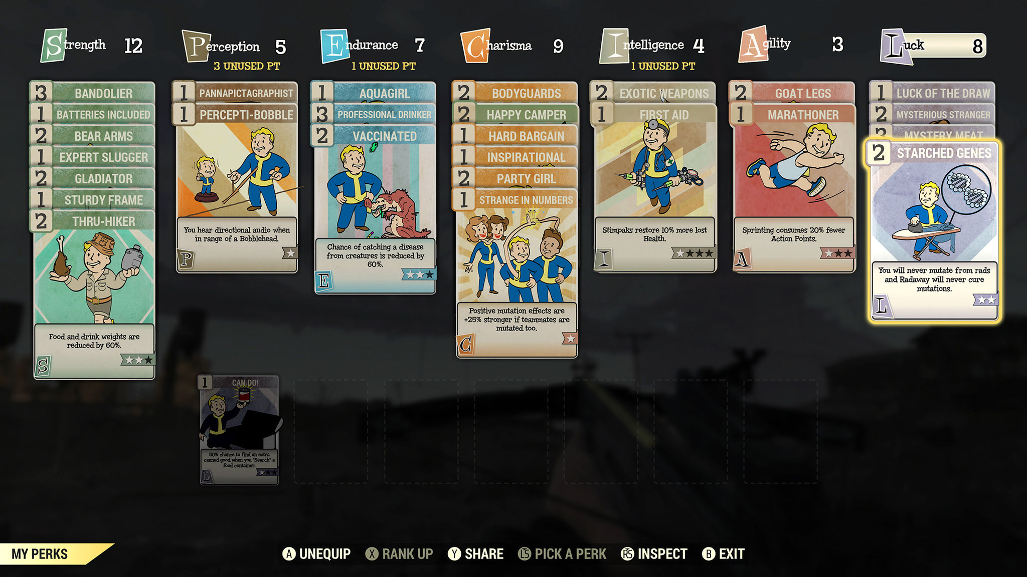 Das aus den Singleplayer-Episoden bekannte Erfahrungs- und Charakter-Management wurde gegen eine Art Sammelkarten-System ersetzt. Das macht zwar Spaß, ist aber anfangs etwas verwirrend.
