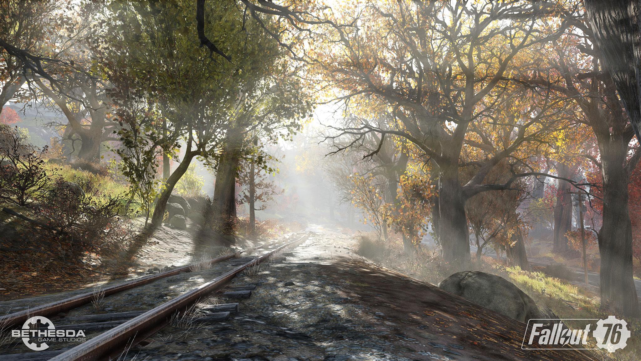 """Für die Umsetzung seines Abenteuers hat Bethesda wie üblich seine """"Creation Engine"""" eingesetzt: Die ist zwar gerade technisch ziemlich veraltet, aber einige hübsche Schauplätze hält das Spiel trotzdem bereit."""