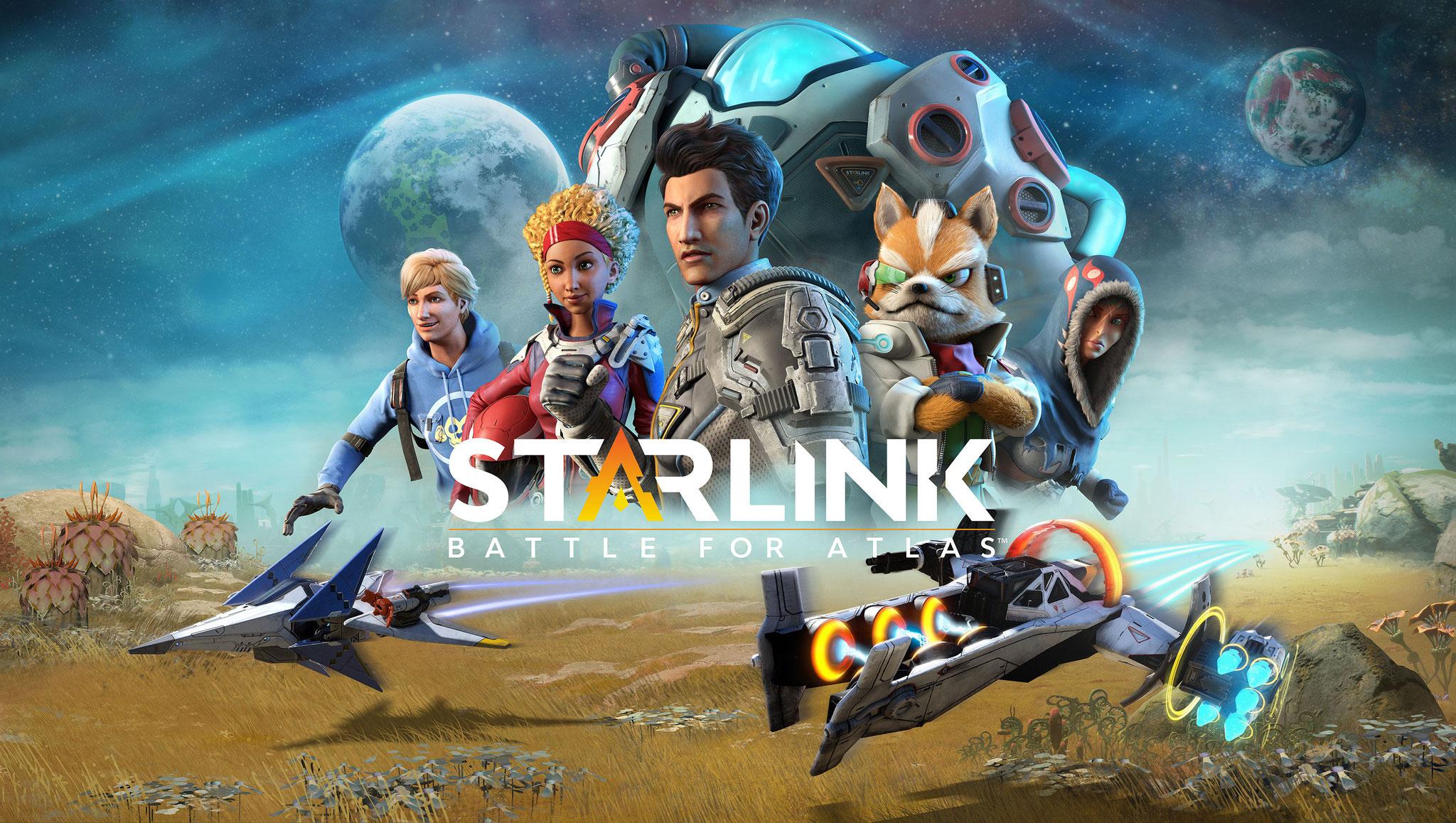 """Spacige Open-World-Action im Sinne von """"Skylanders"""": """"Starlink"""" wird eine Kreuzung aus Spiel und Spielzeug, sogar Nintendos """"Star Fox"""" schwingt sich dafür ins Raumschiff."""