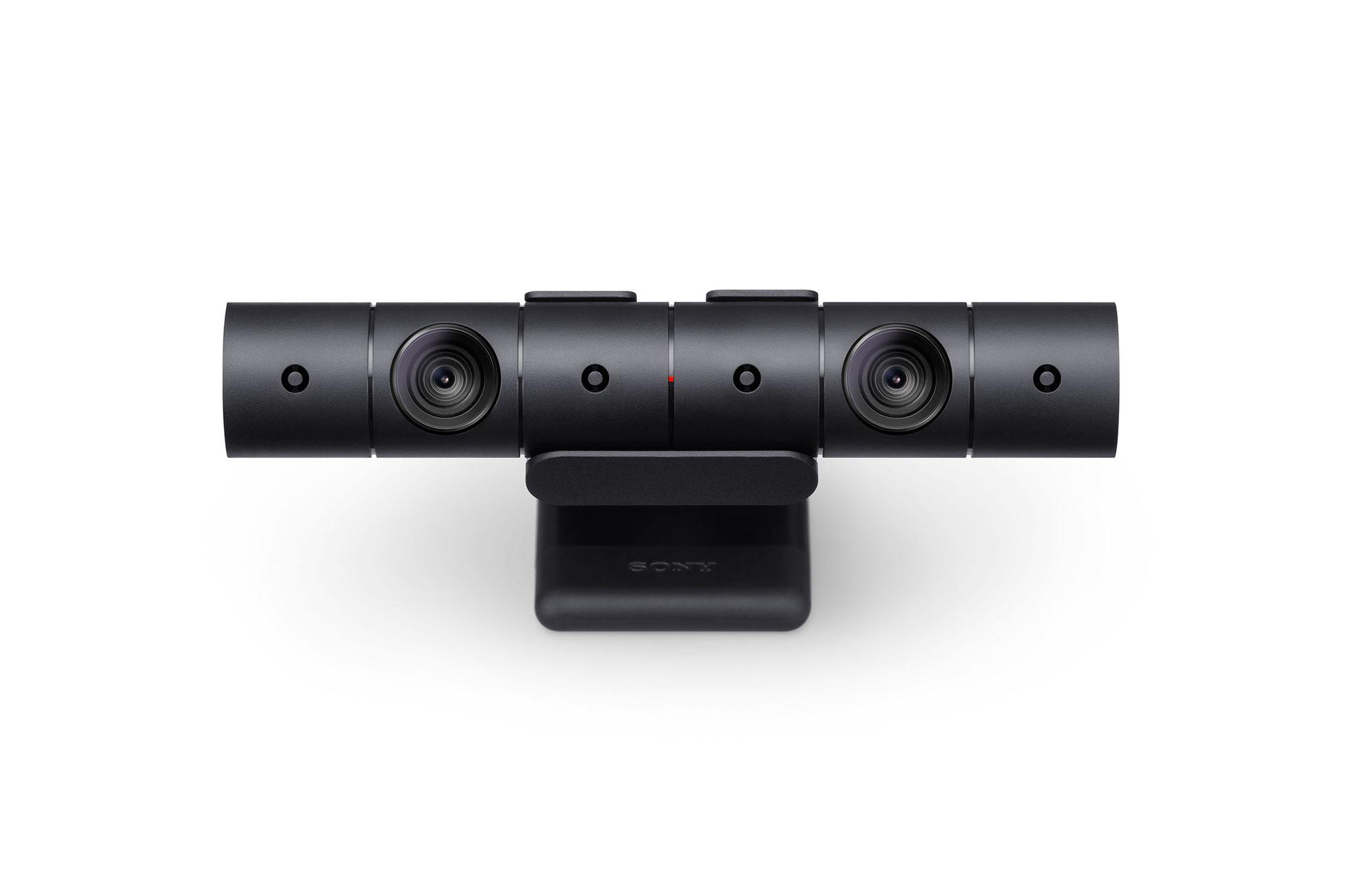 Schicker und endlich mit vernünftigem Standfuß gesegnet: Die PS4-Kamera. Wer bereits den Voränger sein Eigen nennt, kann aber verzichten.